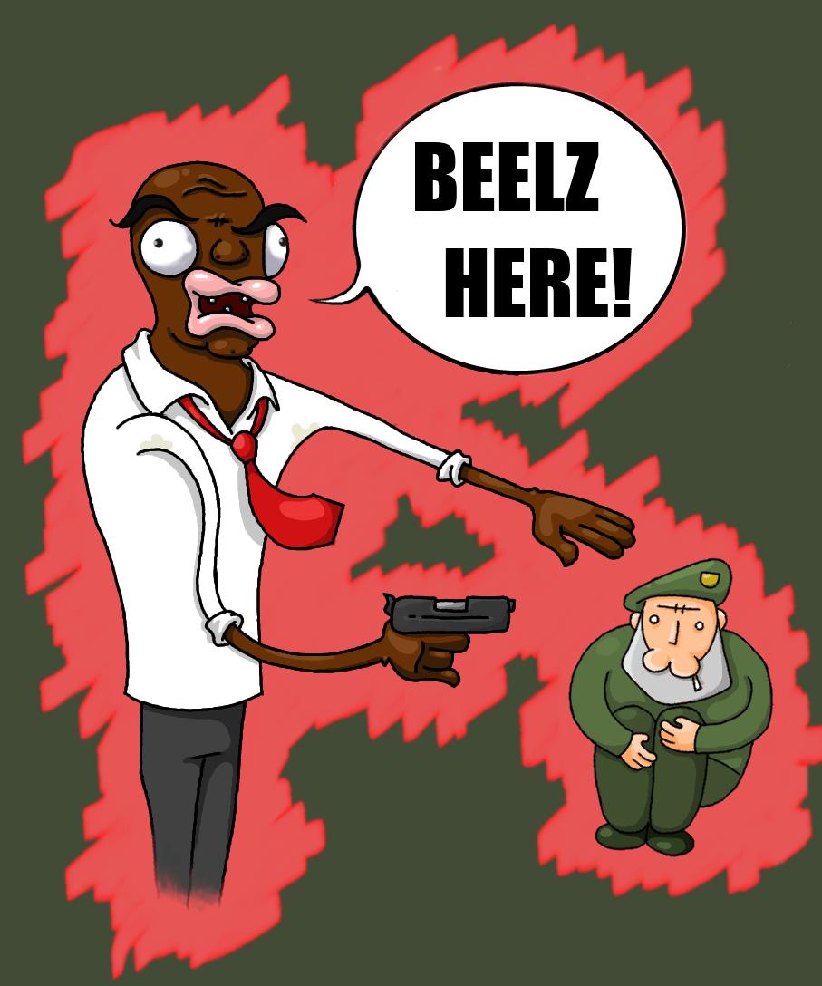 Grabbin' Beelz!