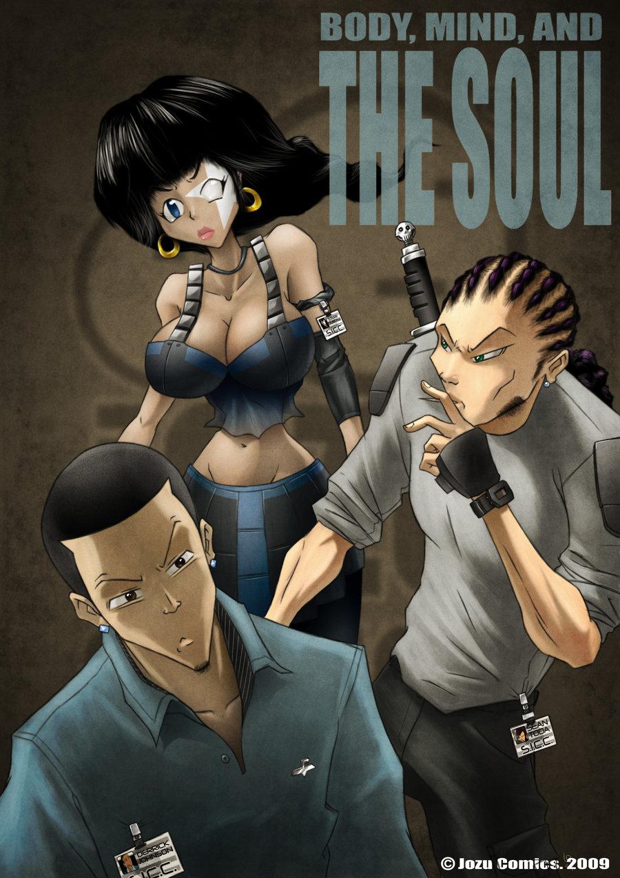 The Soul Issue#1 Cover