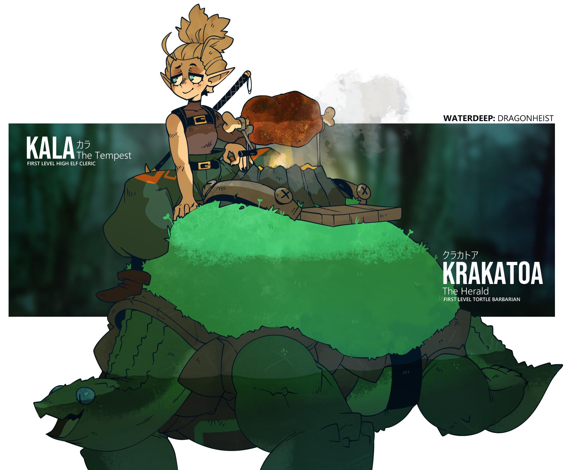 D&D - Krakatoa & Kala