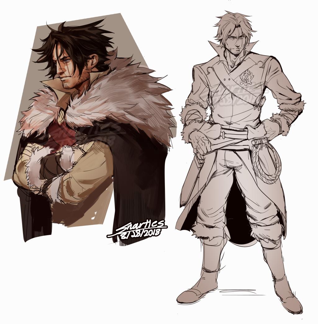 Castlevania Trevor Sketches