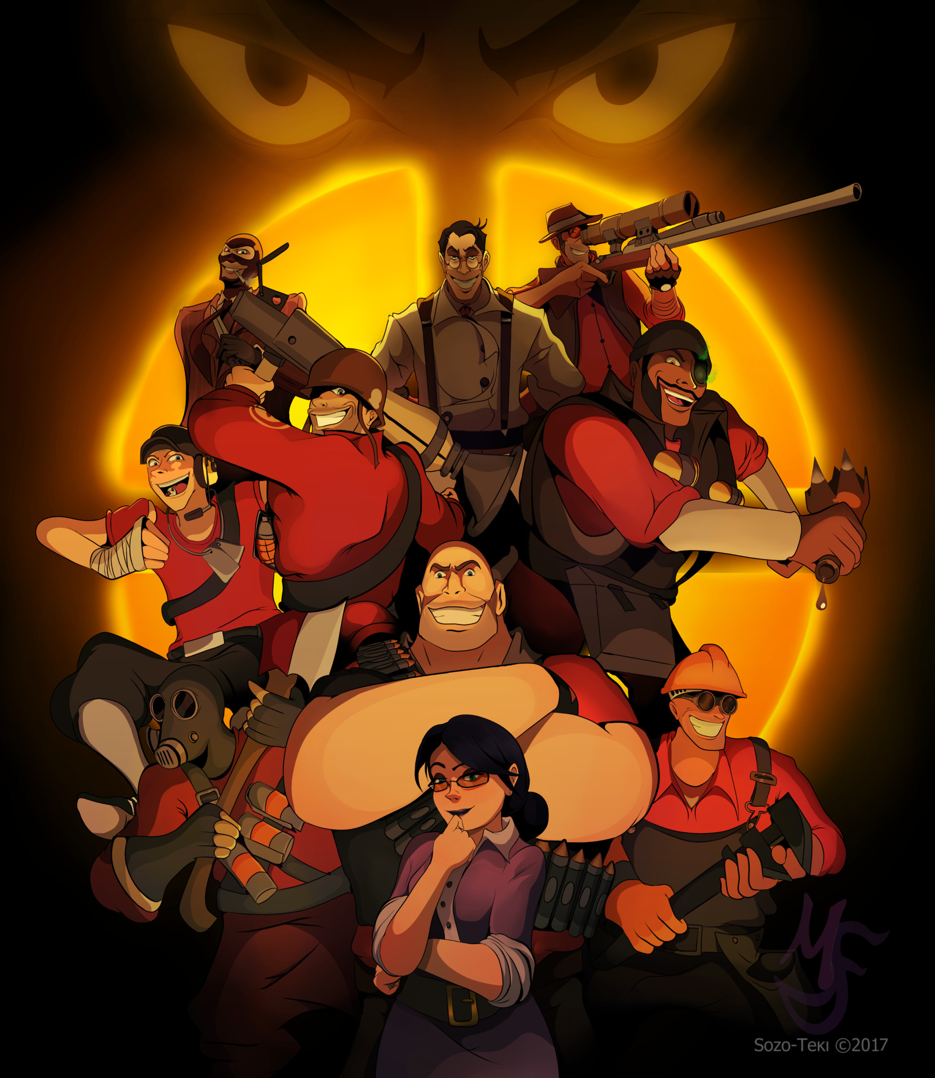 """Because we are """"TEAM FORTRESS"""""""