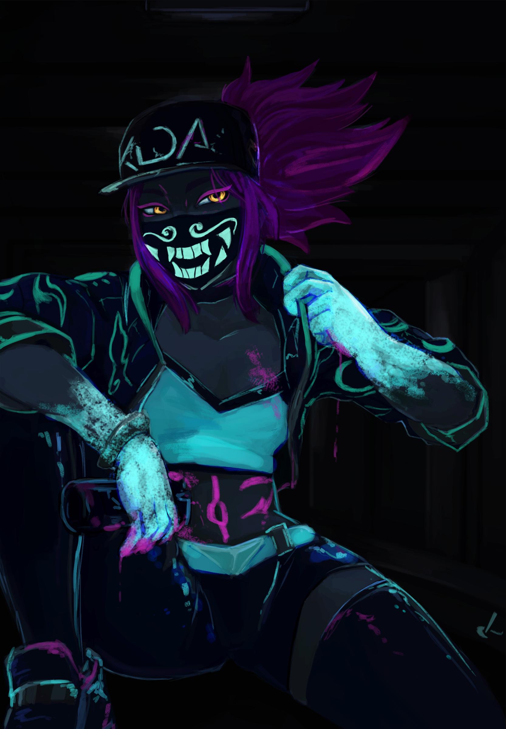 K/DA Akali (Neon)