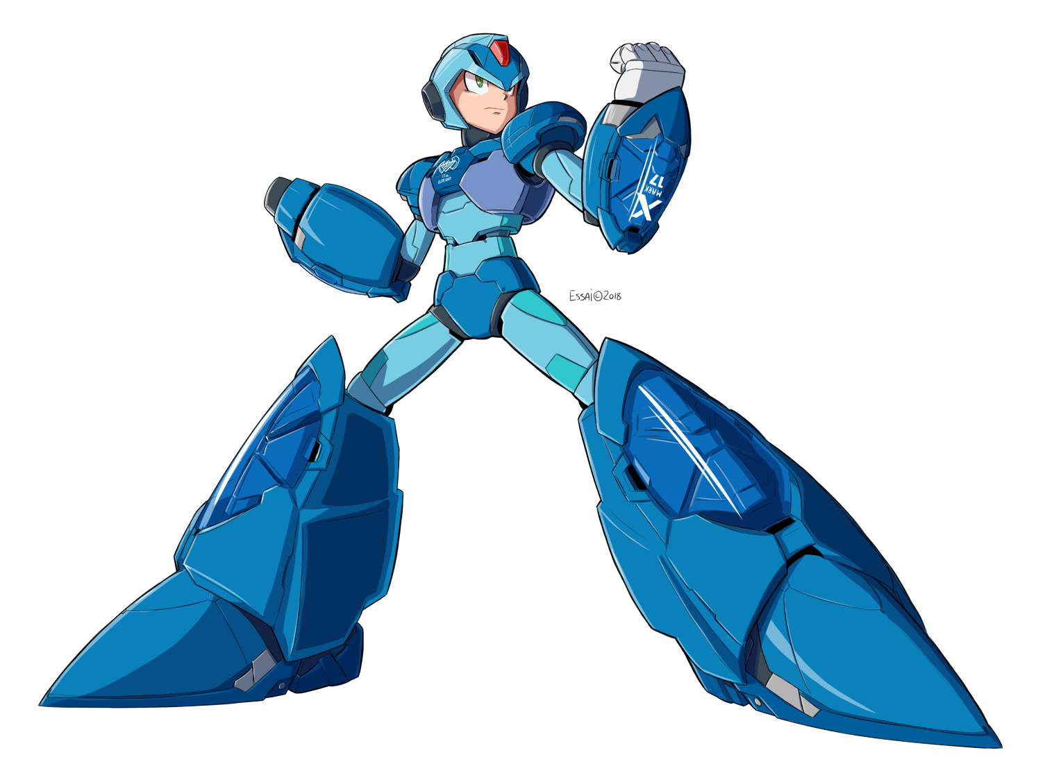 Chogokin Giga Armor X Normal Armor