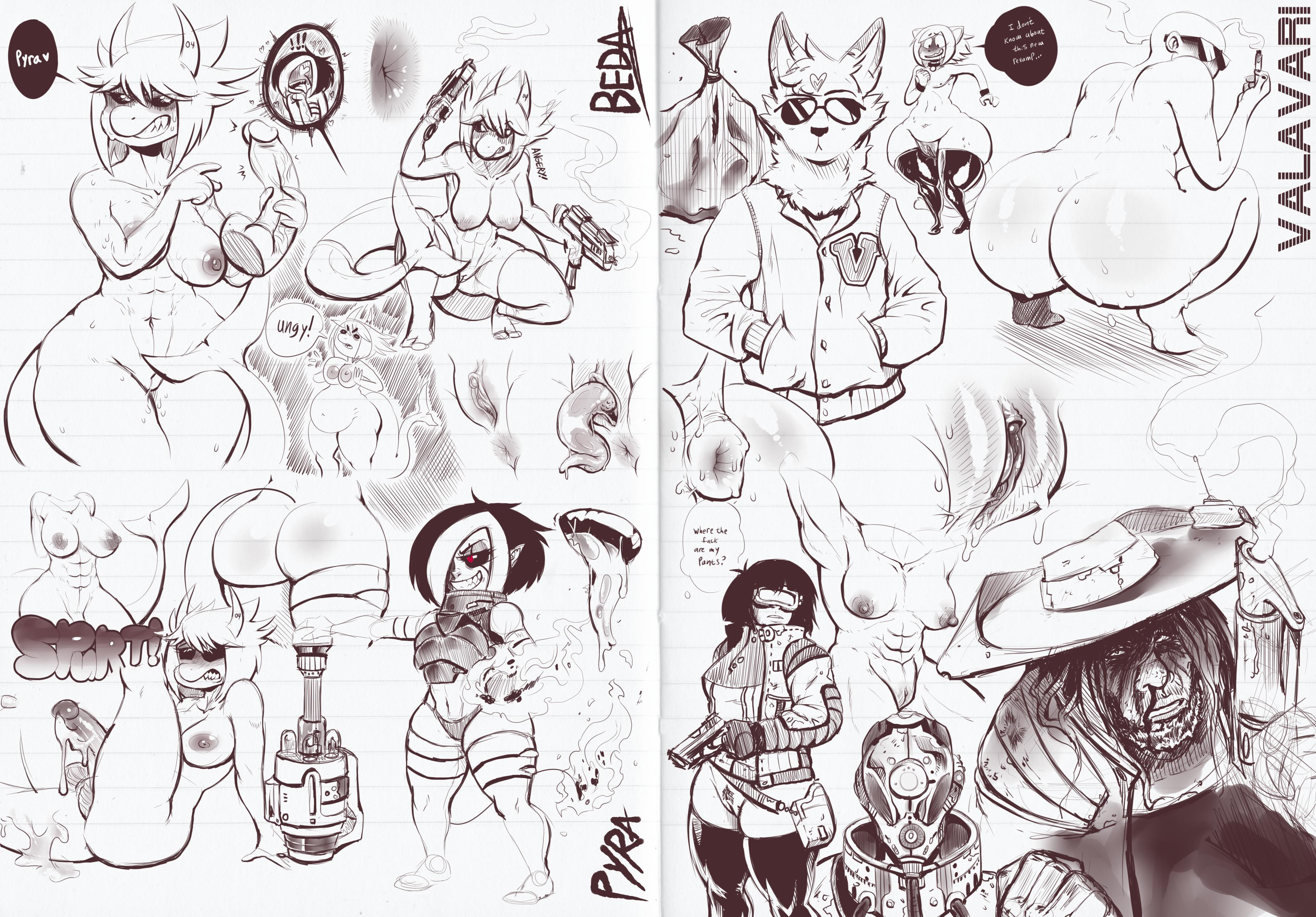 Digital Sketchbook - Page 3 & 4
