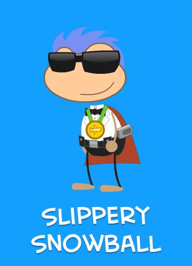 Poptropican: Slippery Snowball