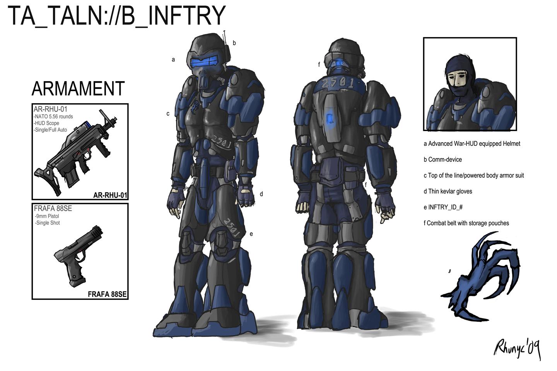Talon Infantry - Redesign