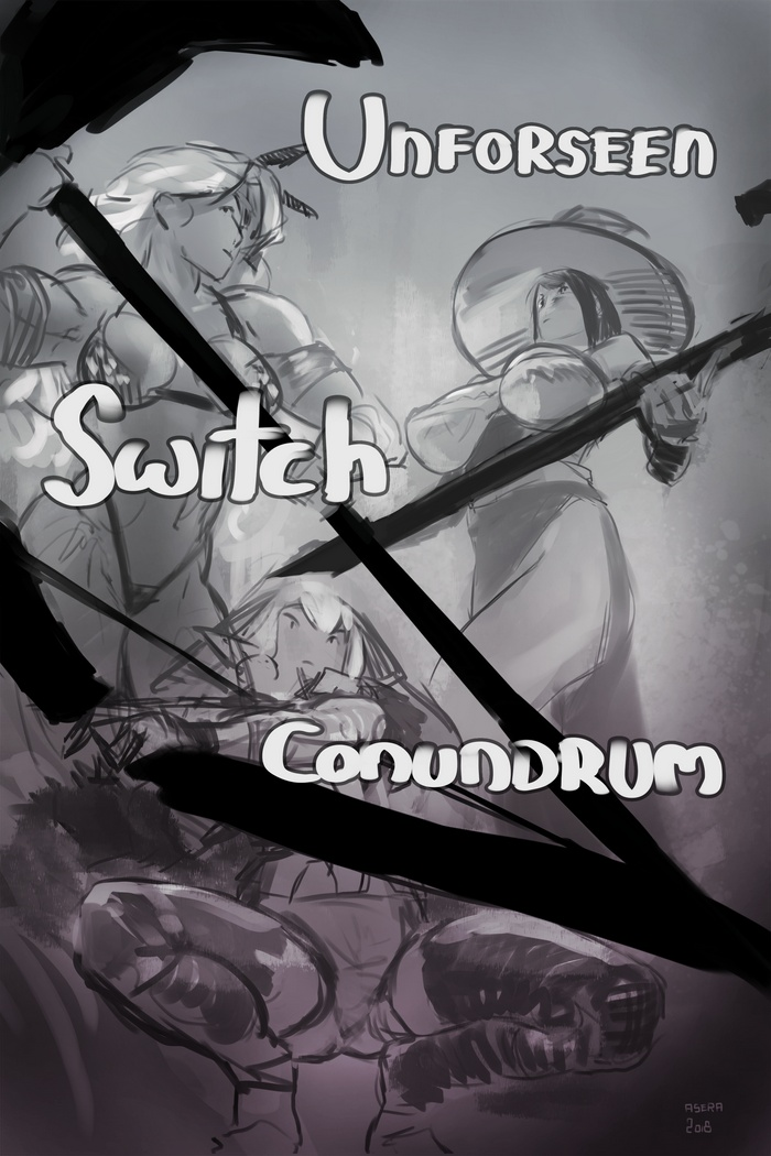 Unforseen Switch Conundrum Cover By Asera On Newgrounds Unforeseen ( comparative more unforeseen, superlative most unforeseen). newgrounds com