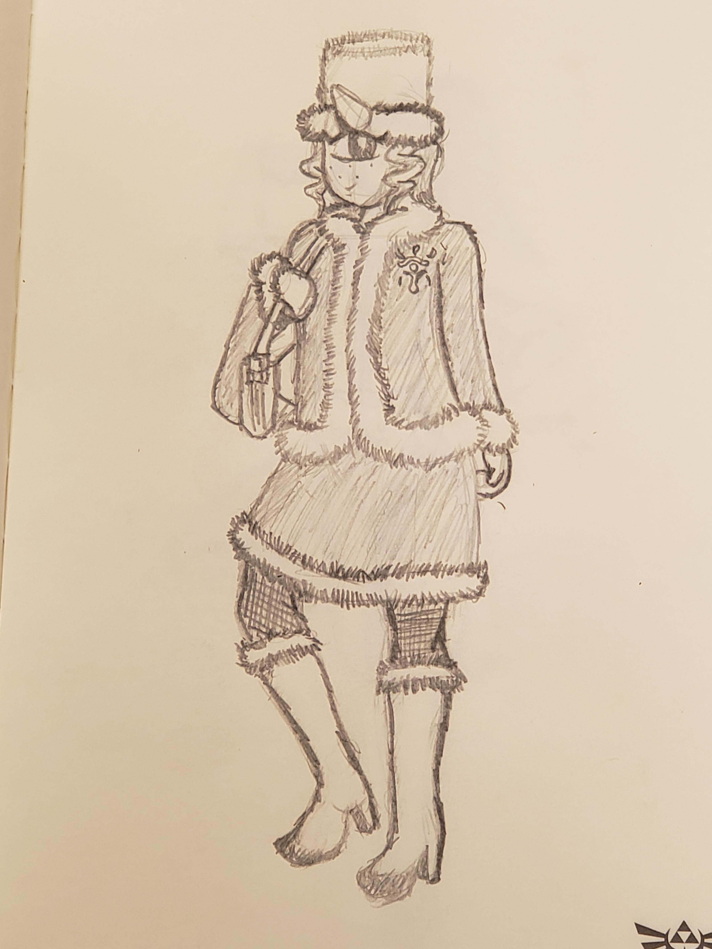 Fourth sketch