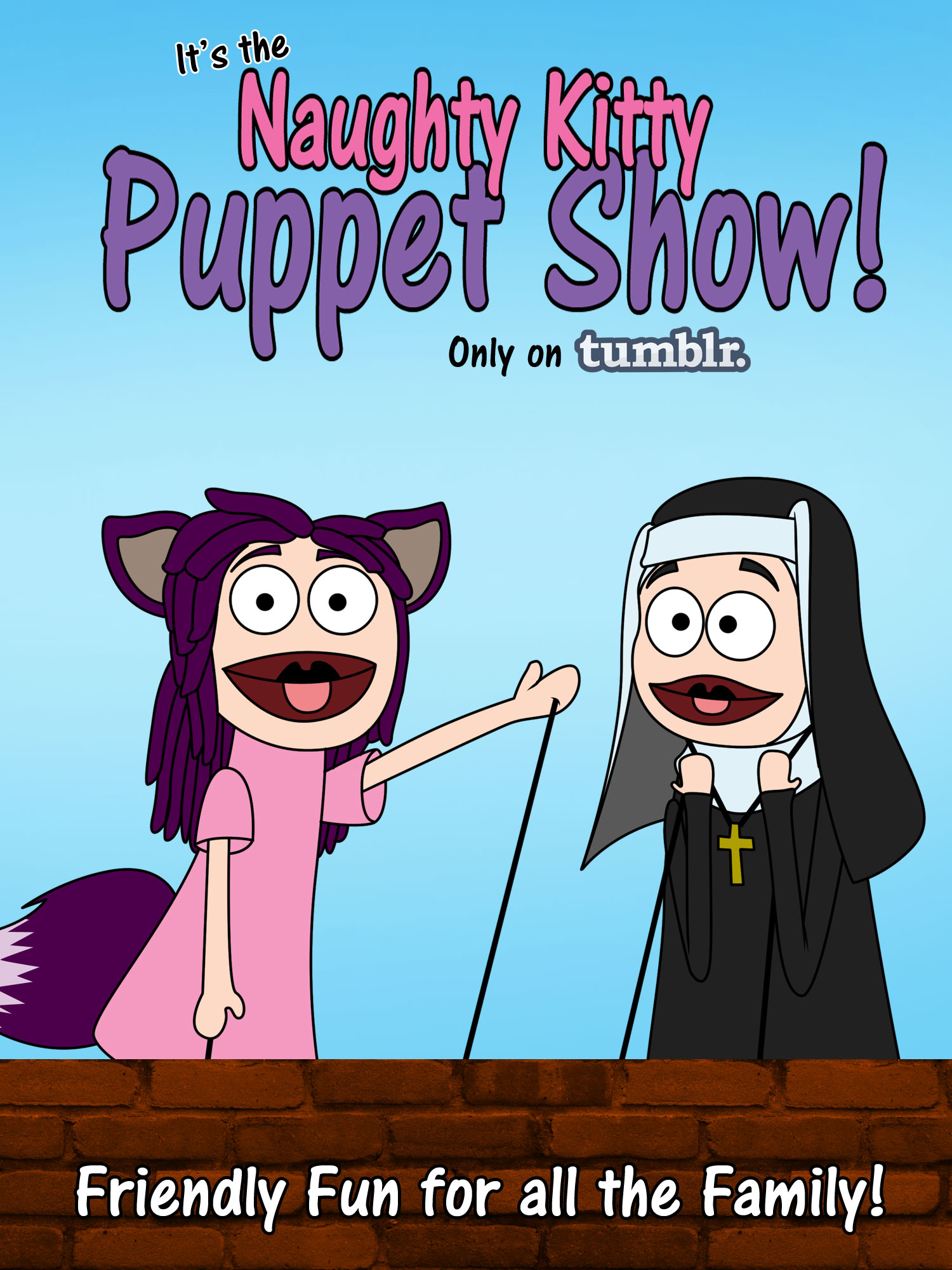 The Naughty Kitty Puppet Show!