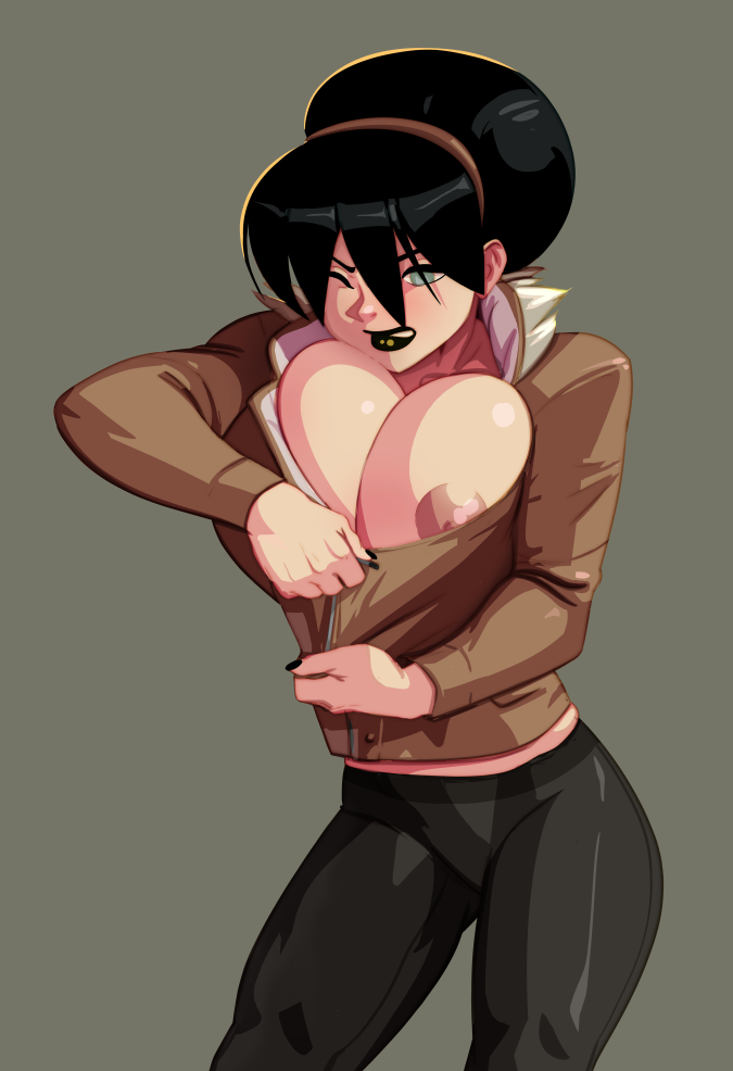 Toph Zips Up