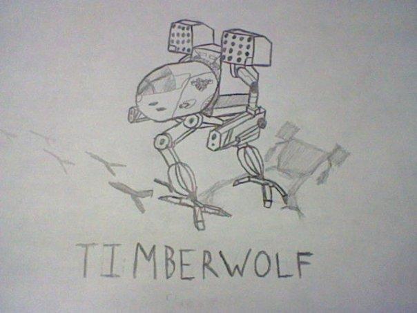 TIMBERWOLF (pencil)