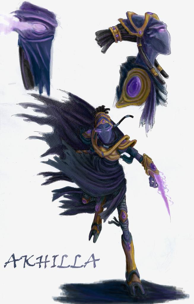 Starcraft Dark Templar Akhilla