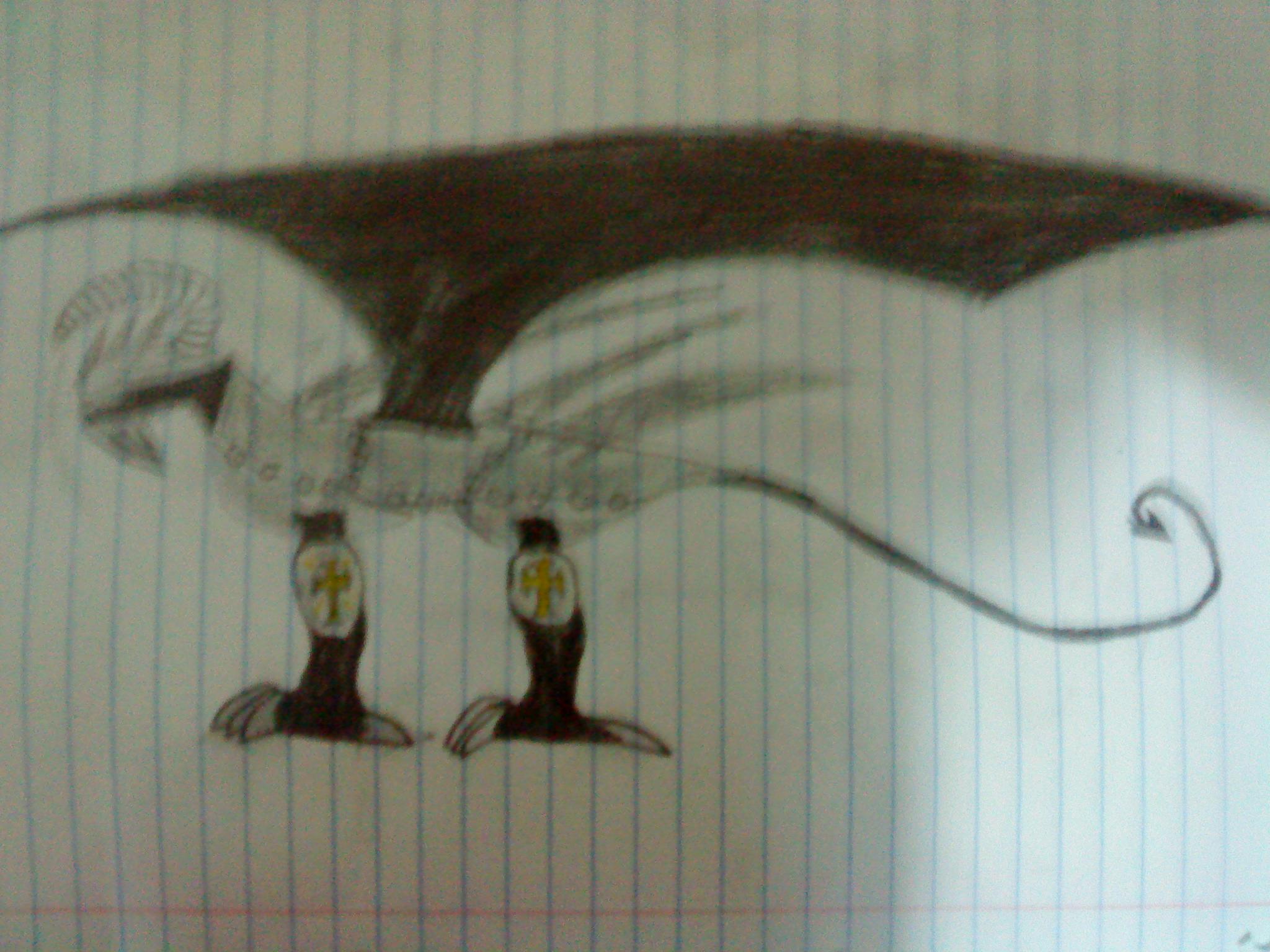 Shadow guardian dragon