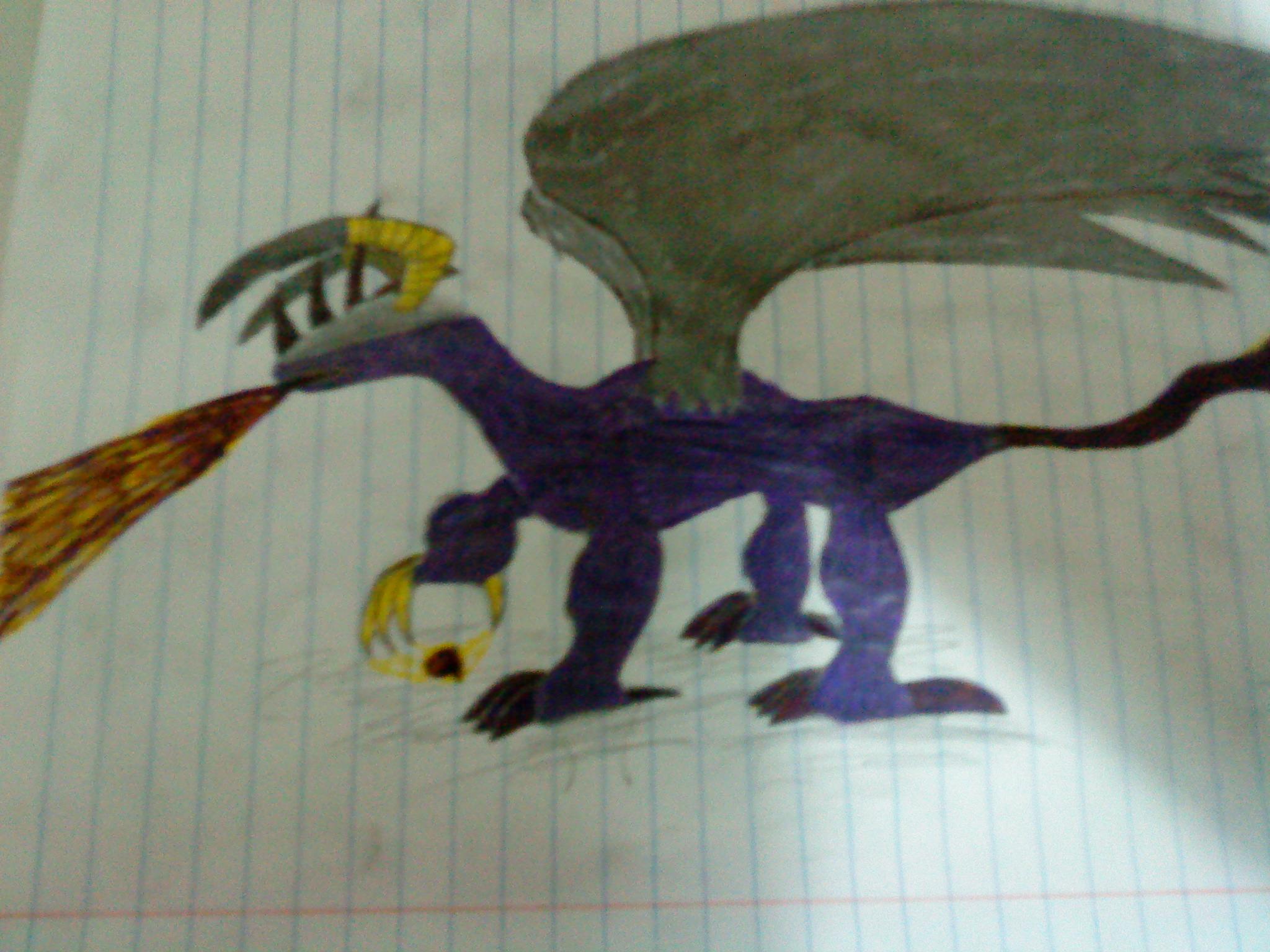 Awesome Demonic Dragon