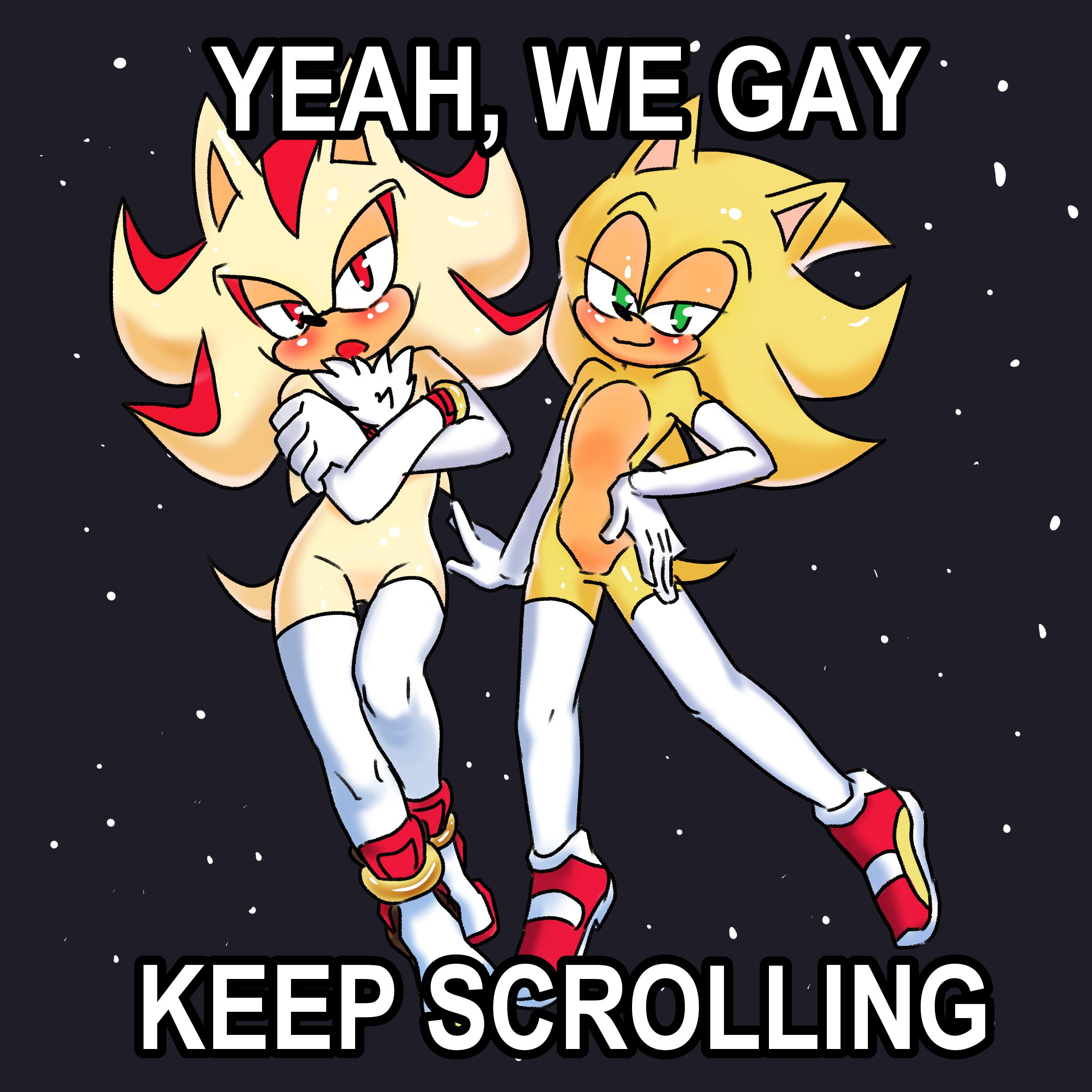 YEAH WE GAY