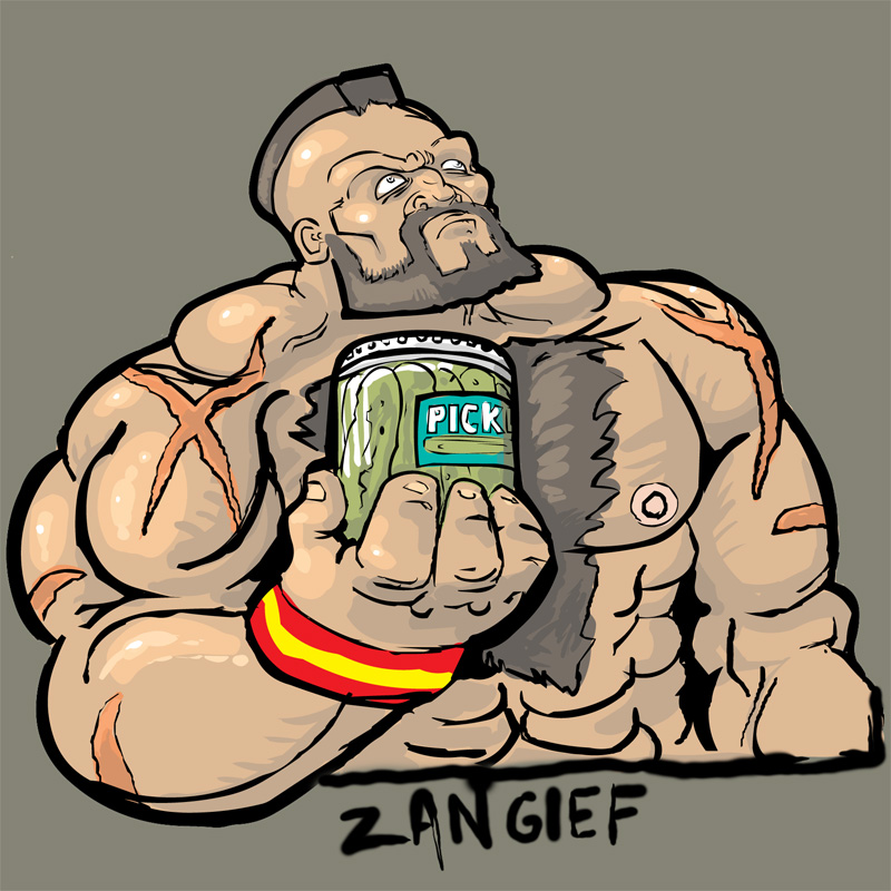 Zangief Character Select