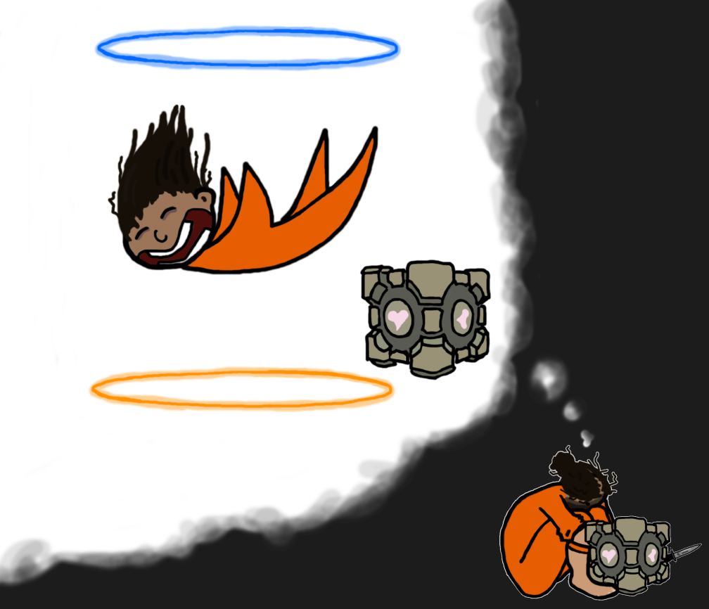 Chell and her Companion