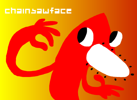 chainsawface