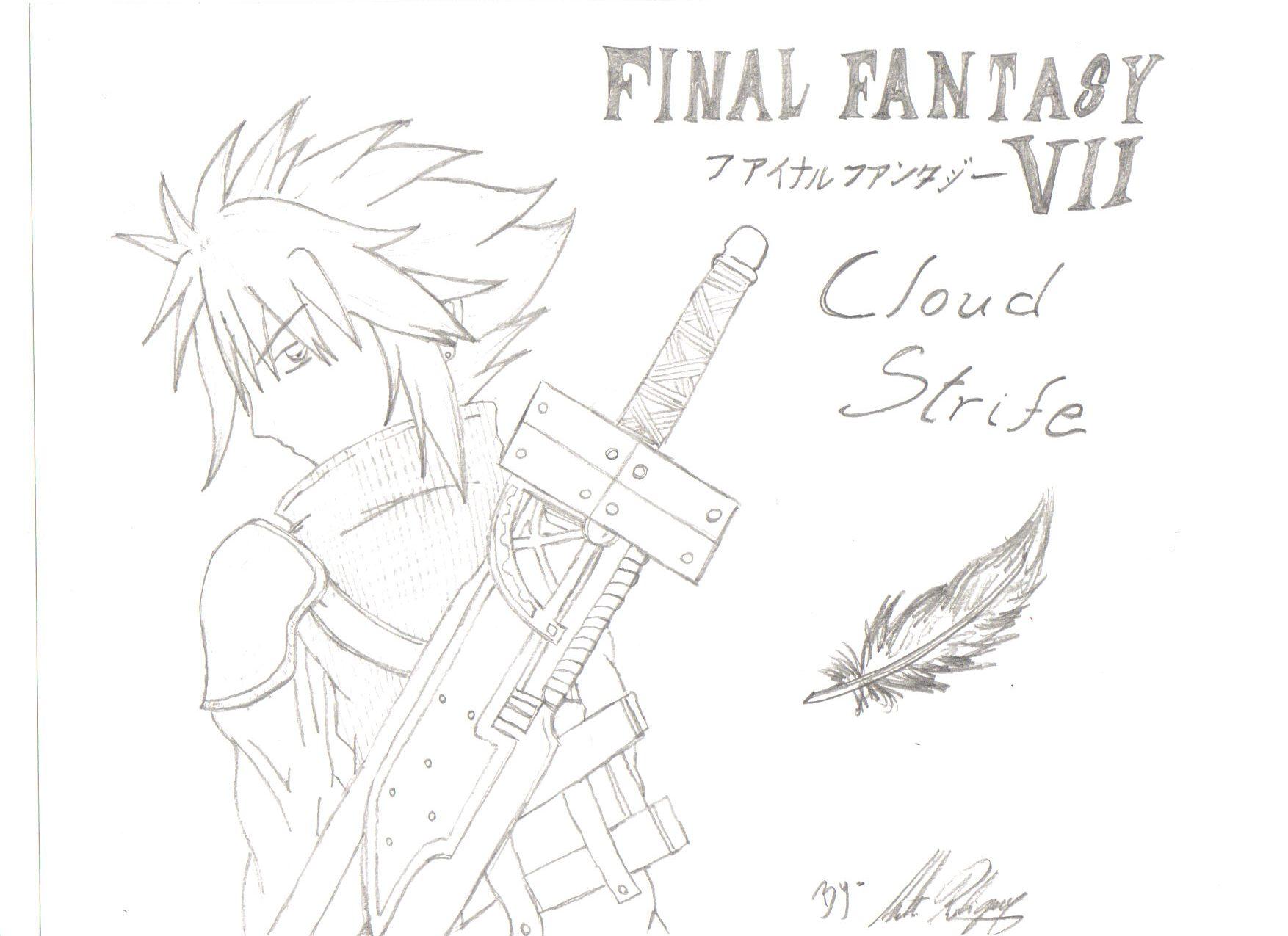 Cloud Strife, by Mat