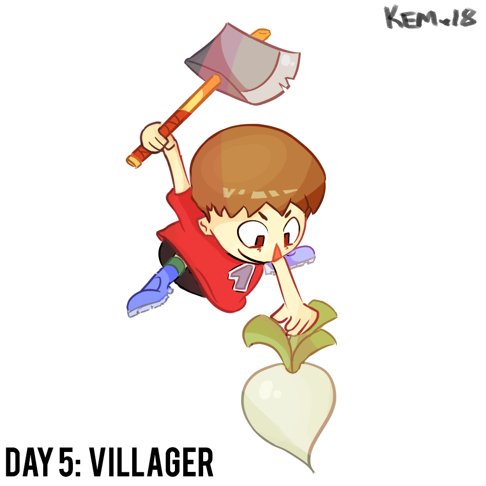 30 Days of Ultimate: Villager