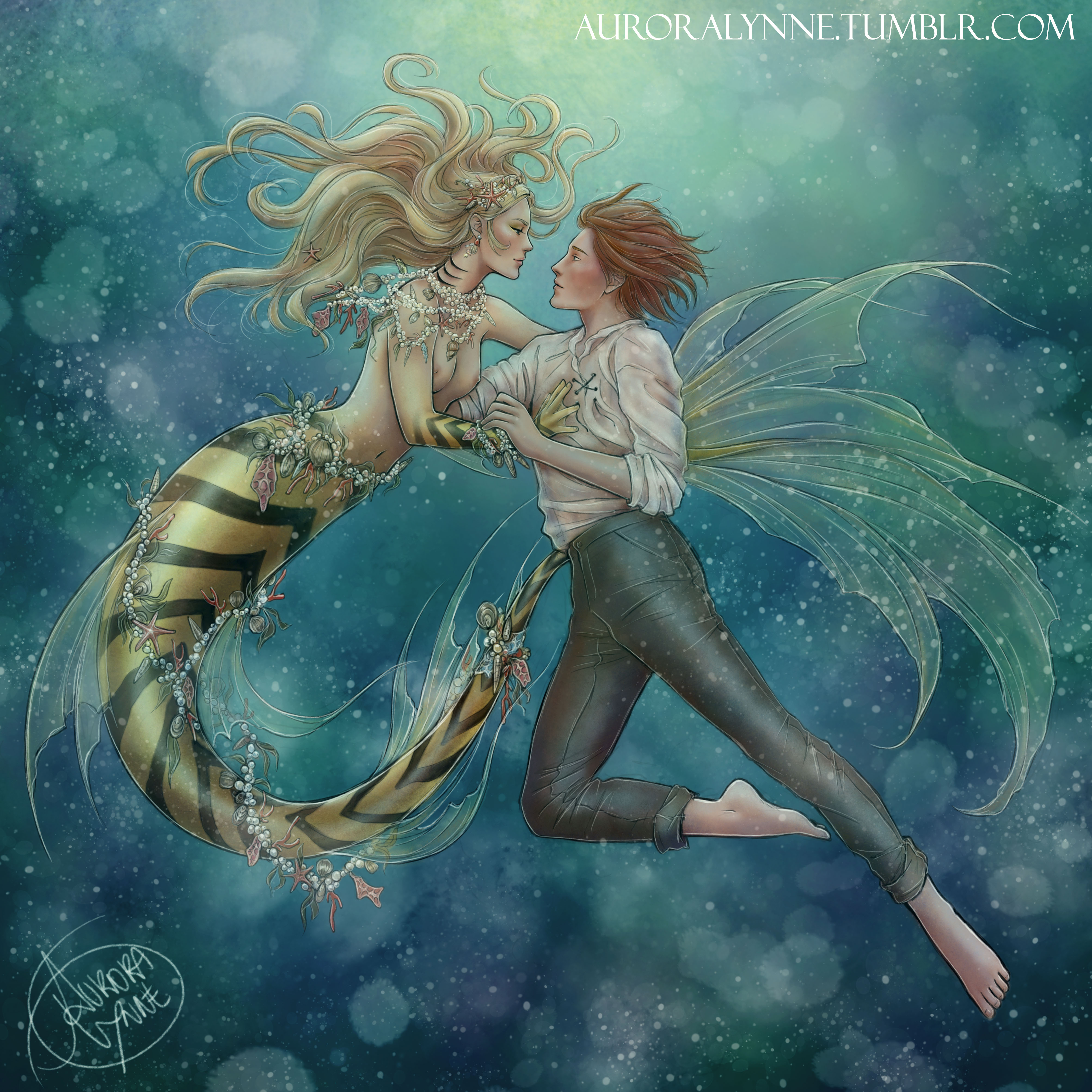 ChloNath - By the Sea, by Aurora Lynne