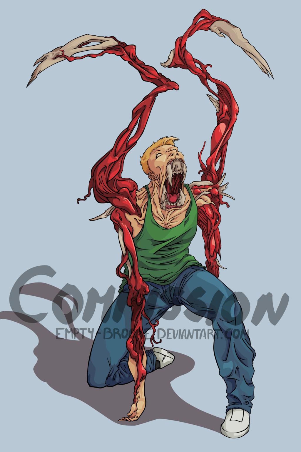 Necromorph Zach [Commission]