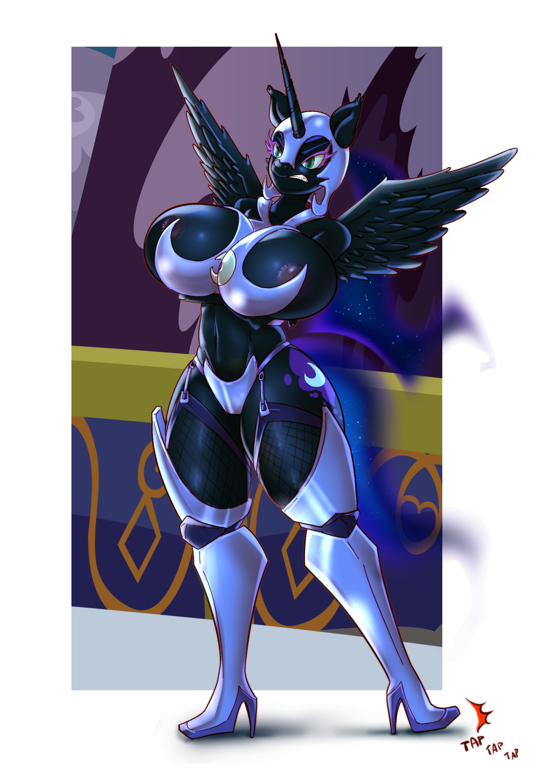 XY Chromosome - Princess Nightmare Moon - commission