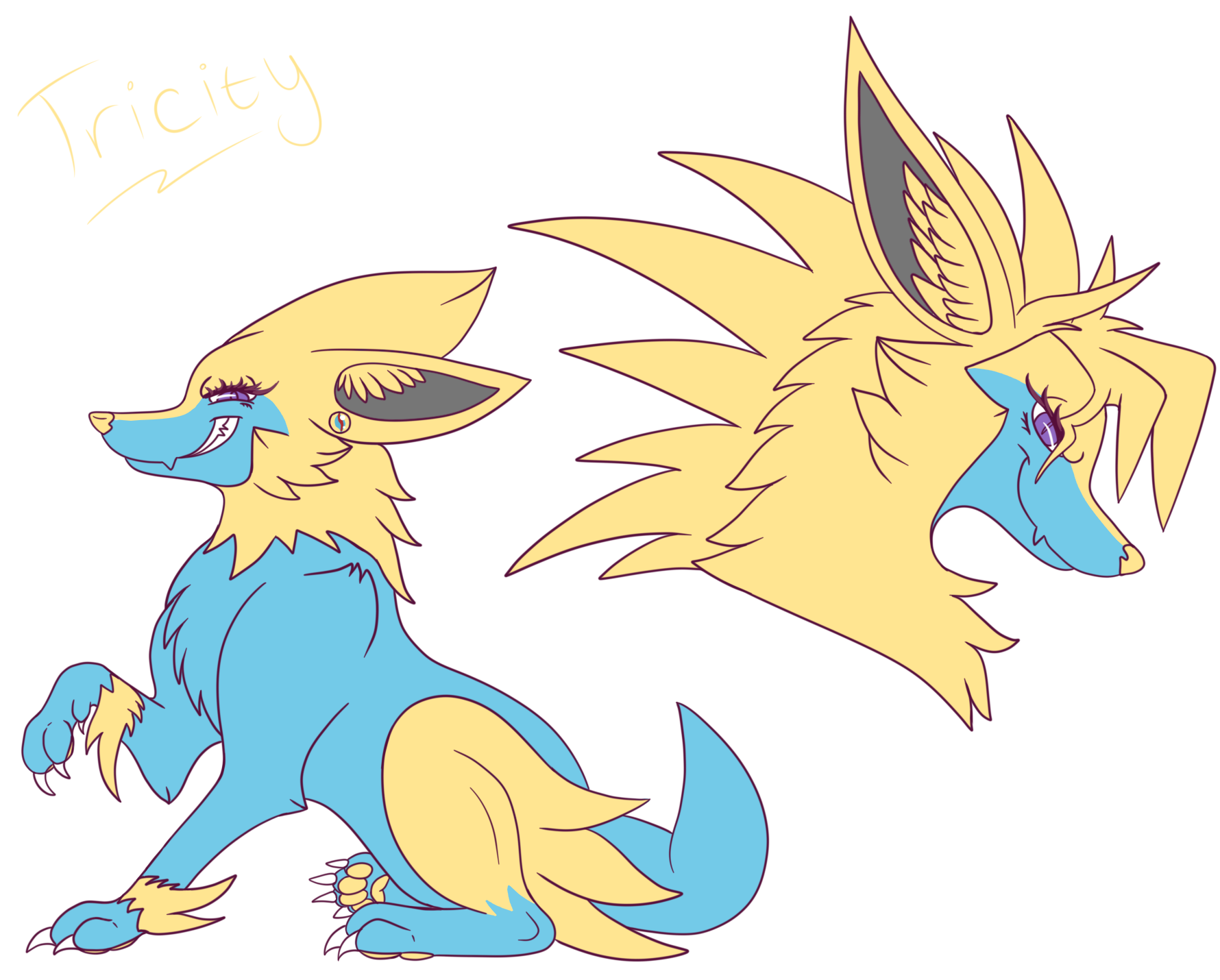 Manectric Tricity By Mienshao On Newgrounds