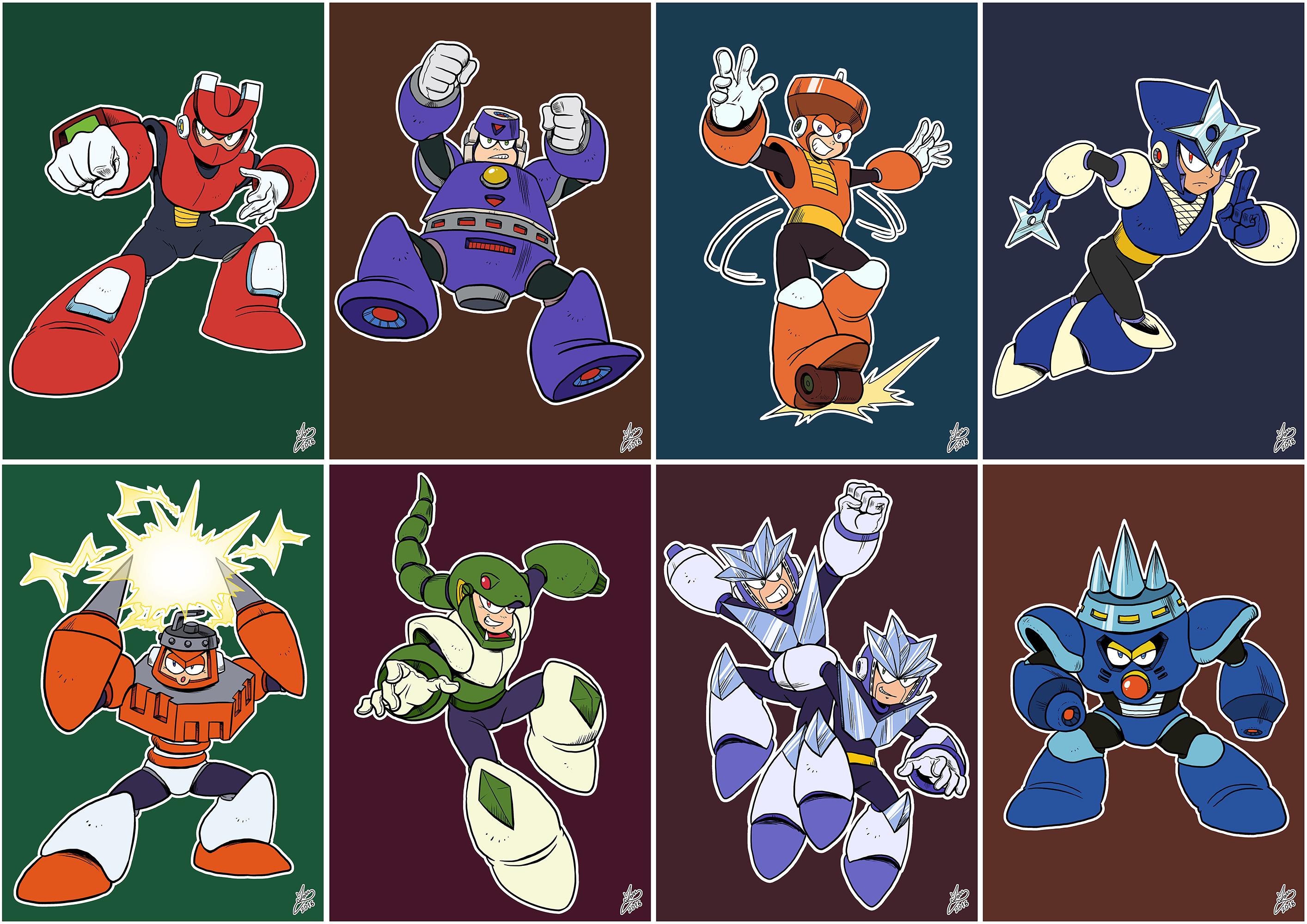 Daily Rockman - Rockman 3 Robot Masters
