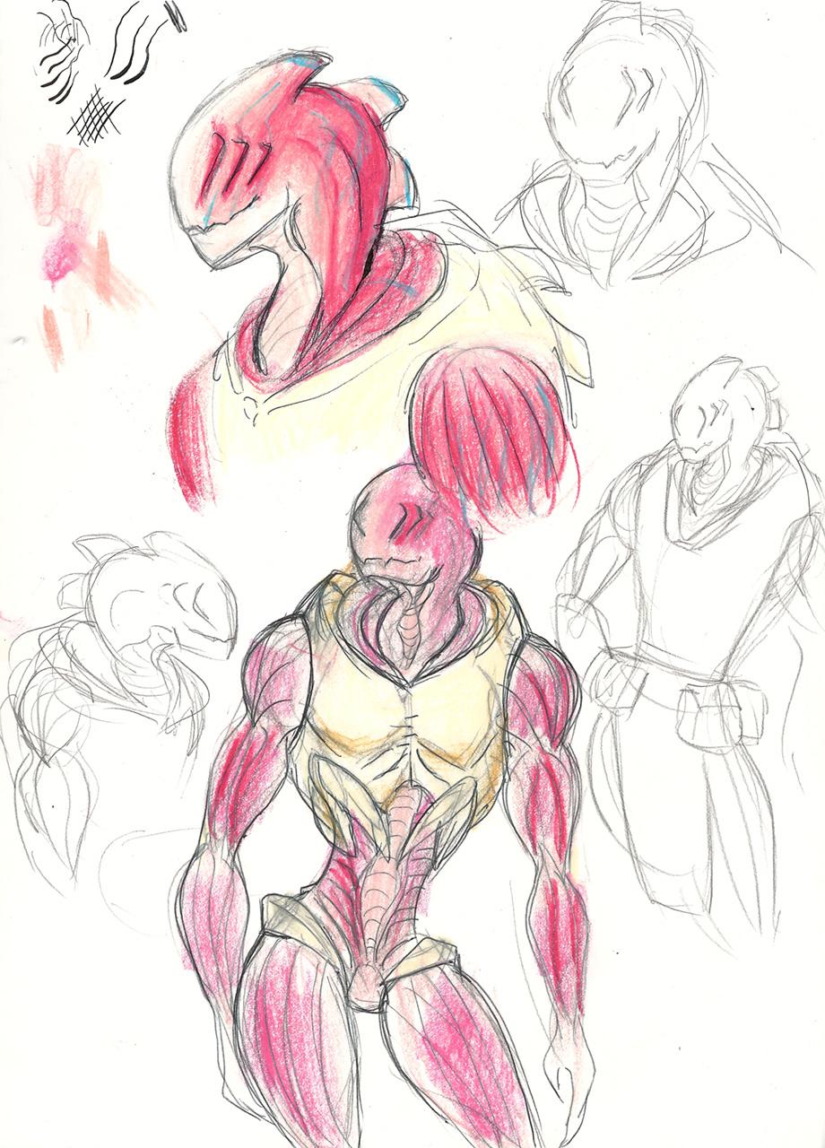 Vazaroust Sketches
