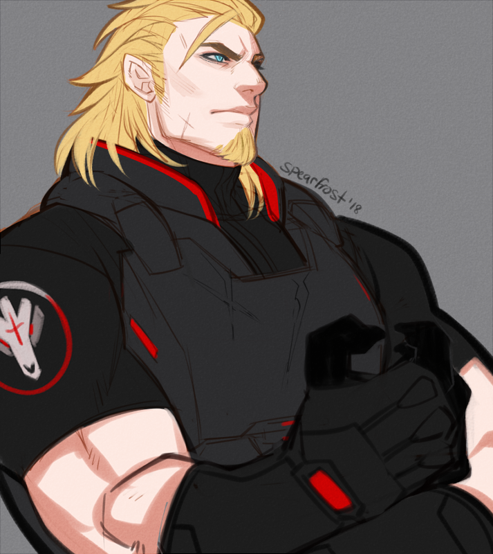 Personal: Young Blackwatch Reinhardt