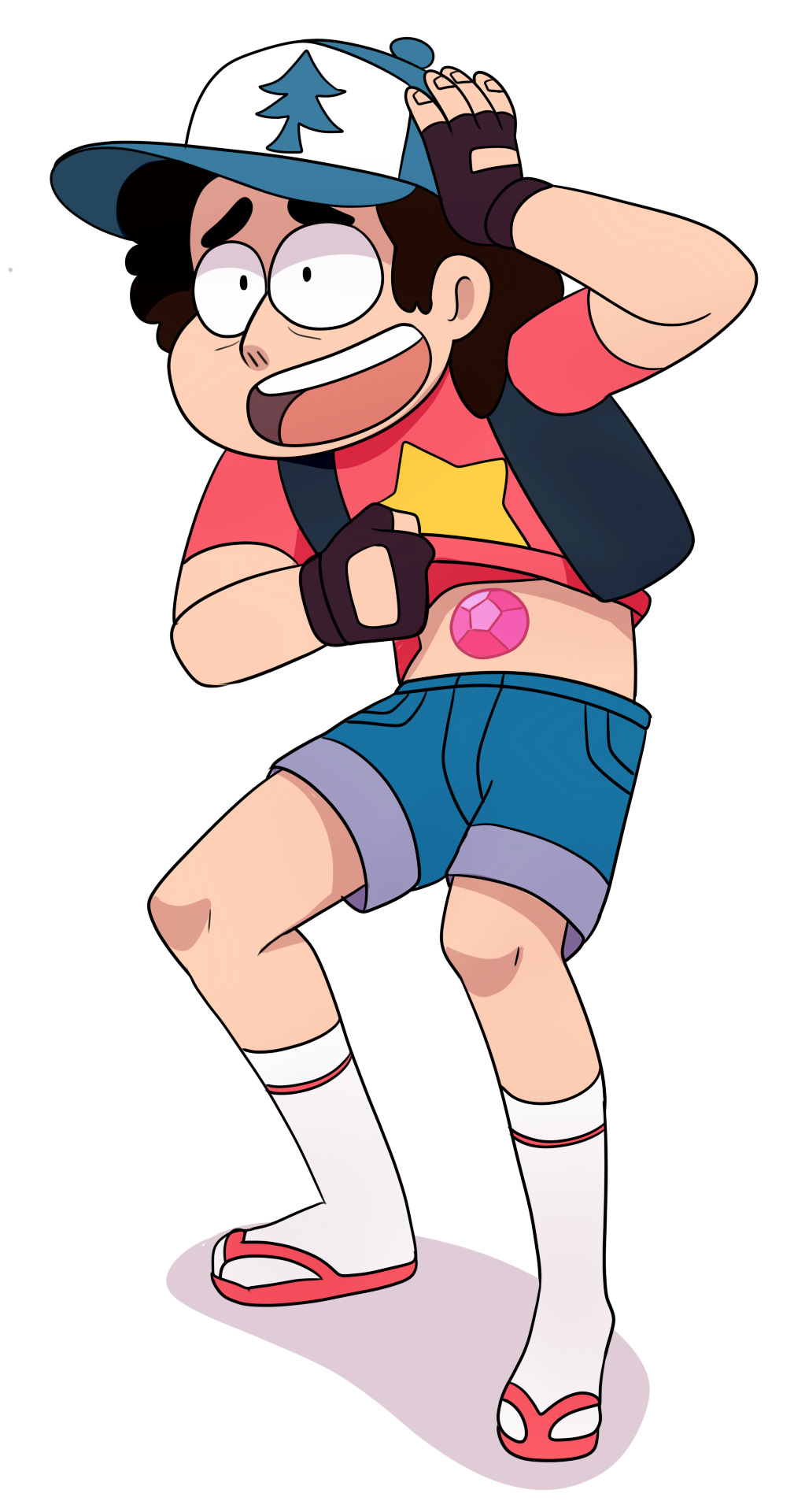 Steven and. dipper Fusion