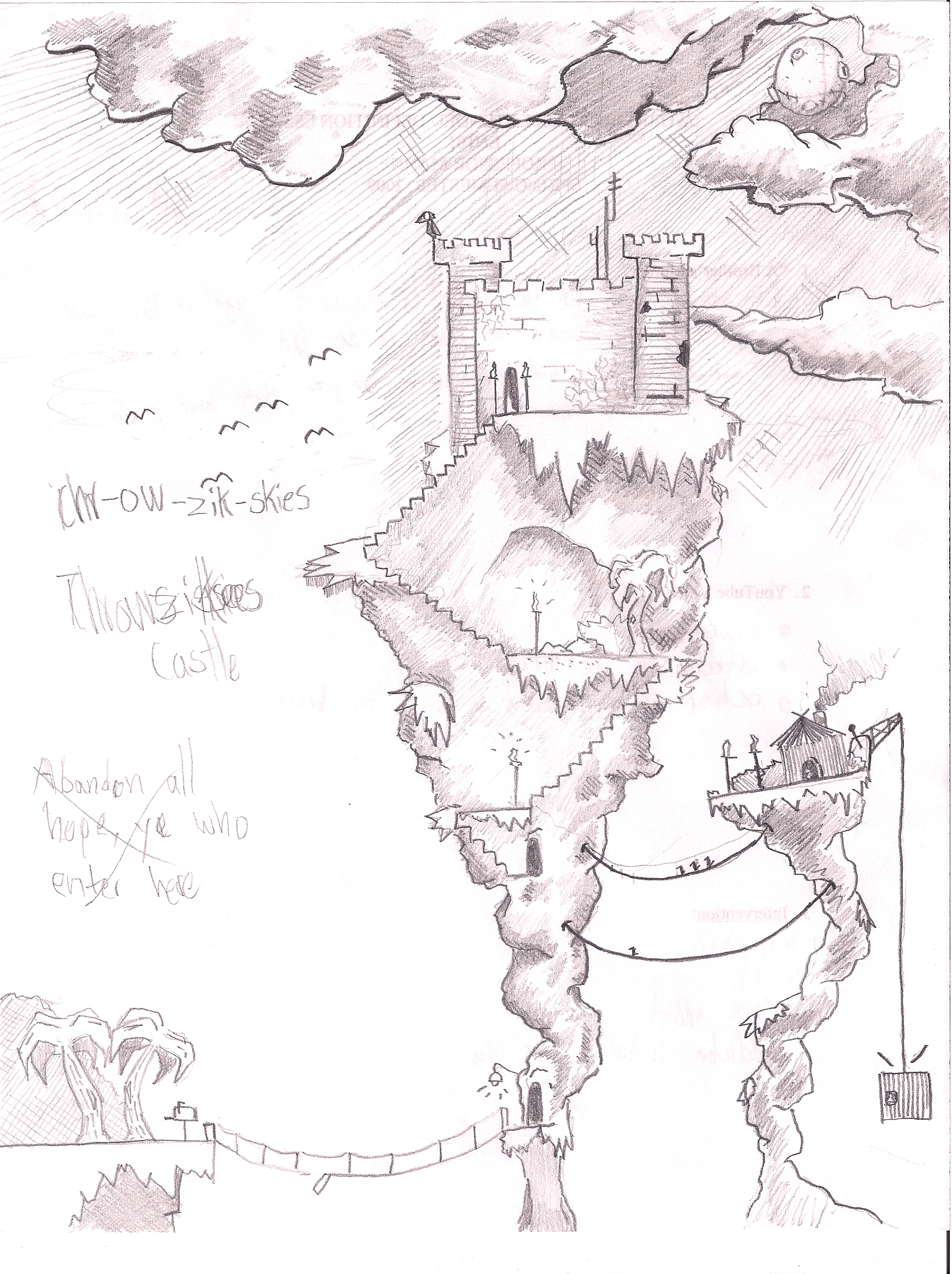 Chr-ow-zik-skies Castle