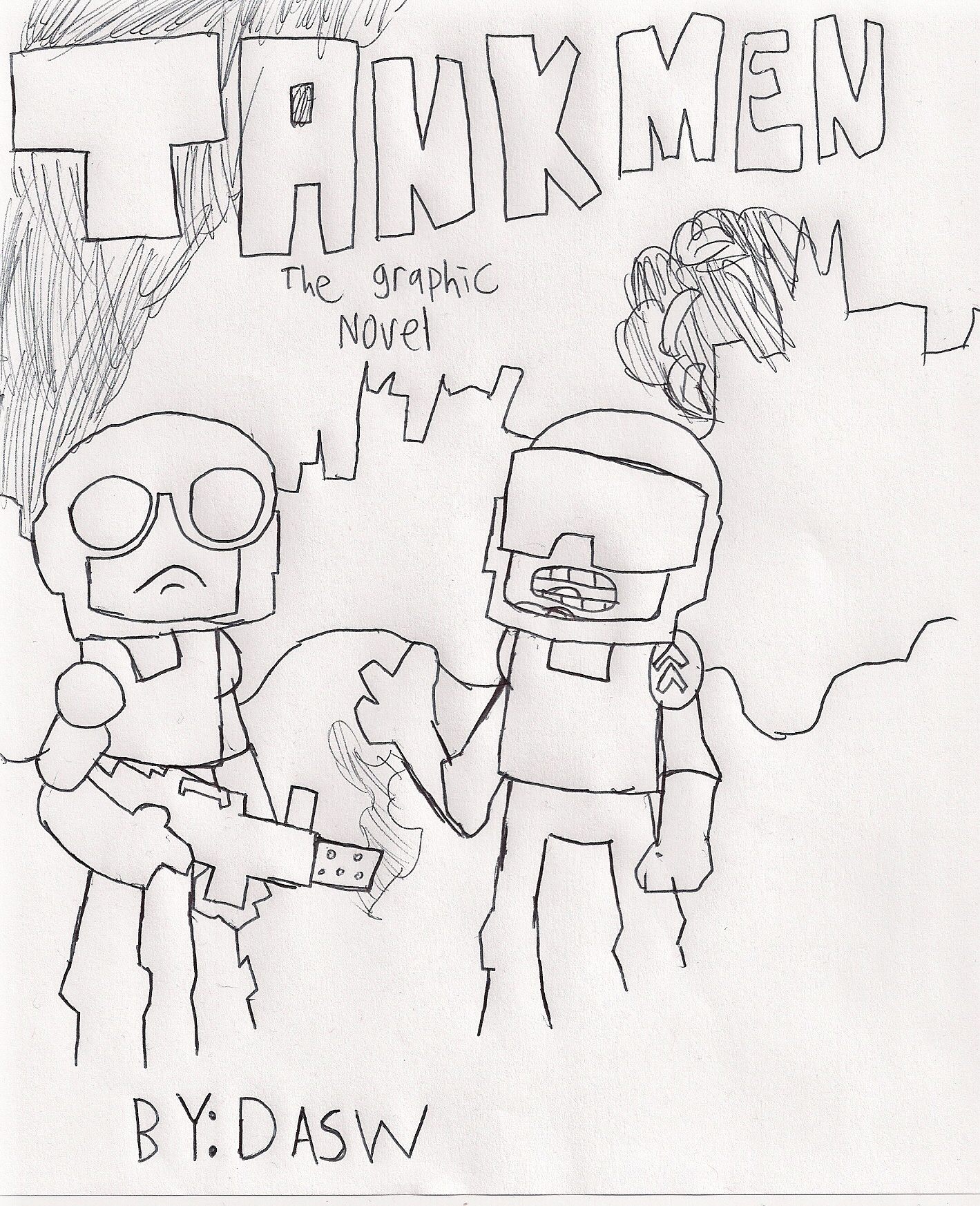 TANKMEN (the graphic novel)