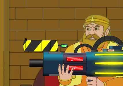 The King With His Gun