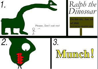 Ralph, the Dinosoar