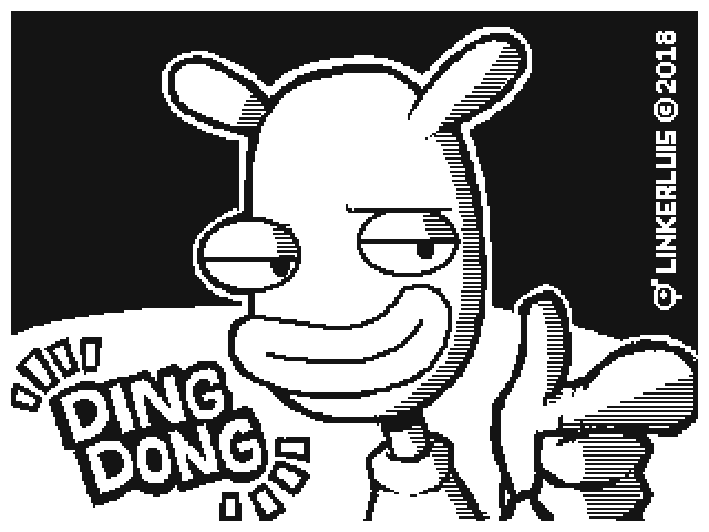 Ding dong portrait by Linkerluis on Newgrounds