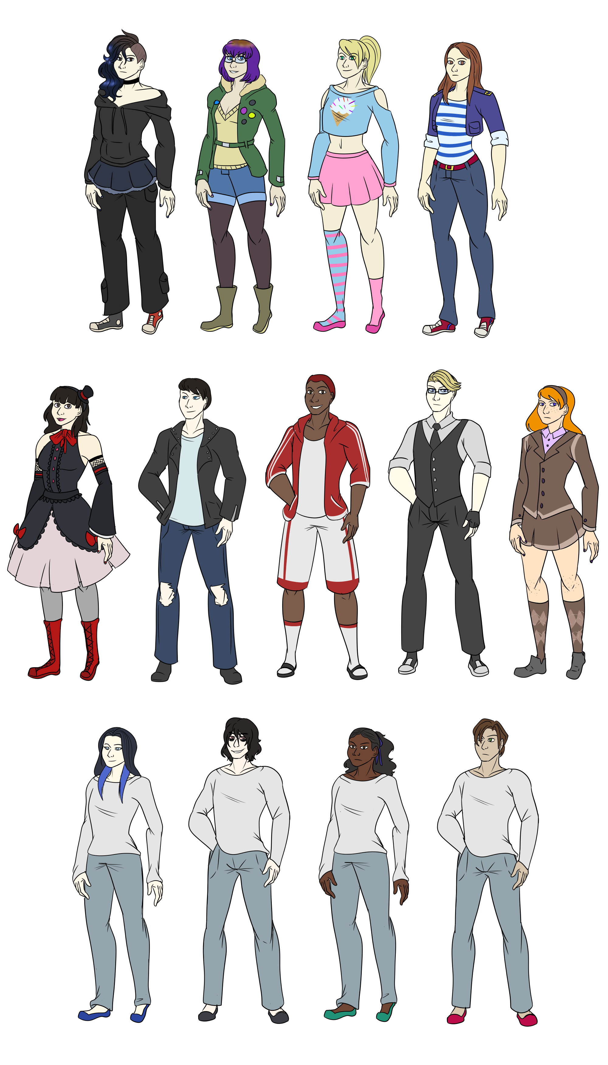 Dreamscape ALL CHARACTERS