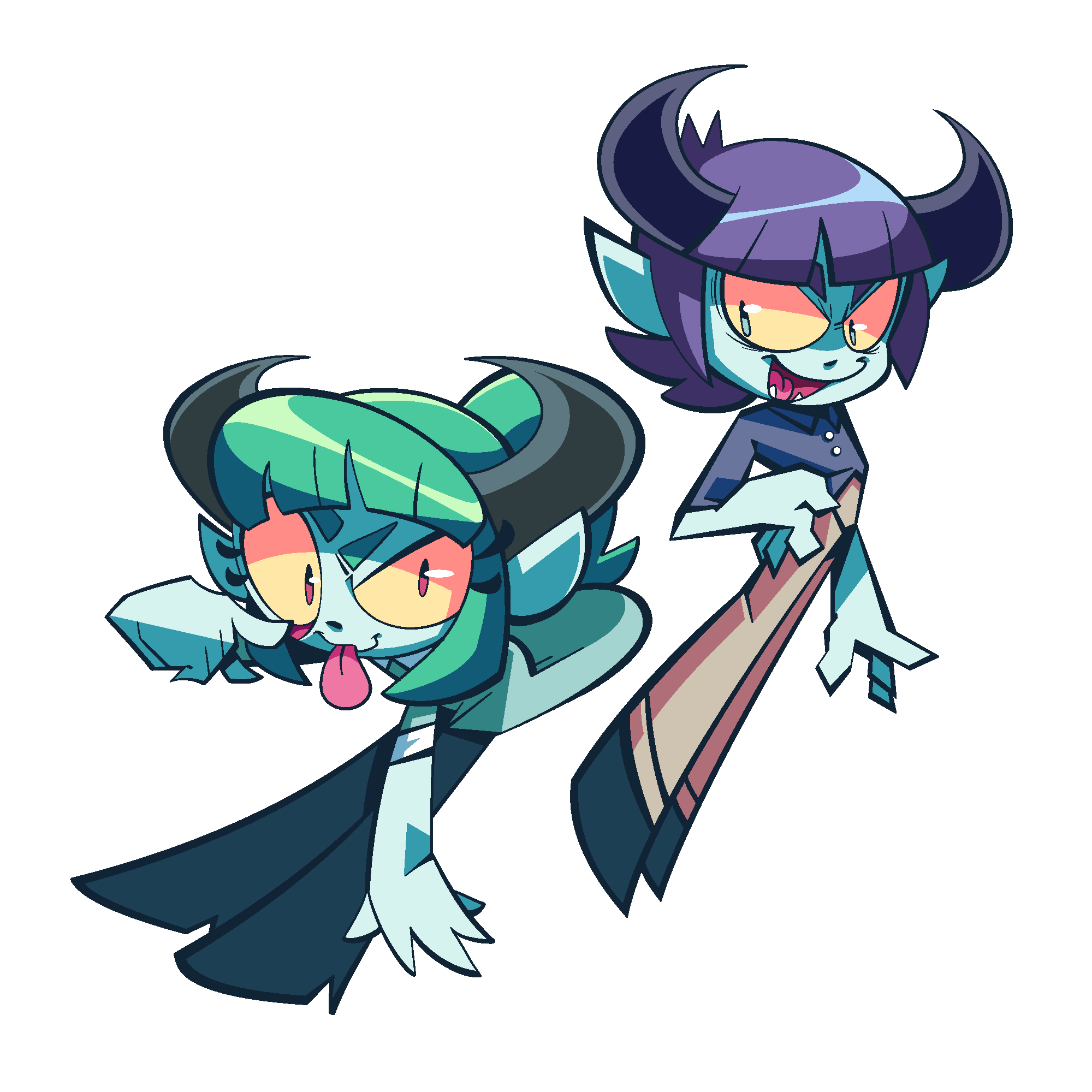 Demon twins art trade