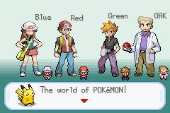 Pokemon Firered Tribute