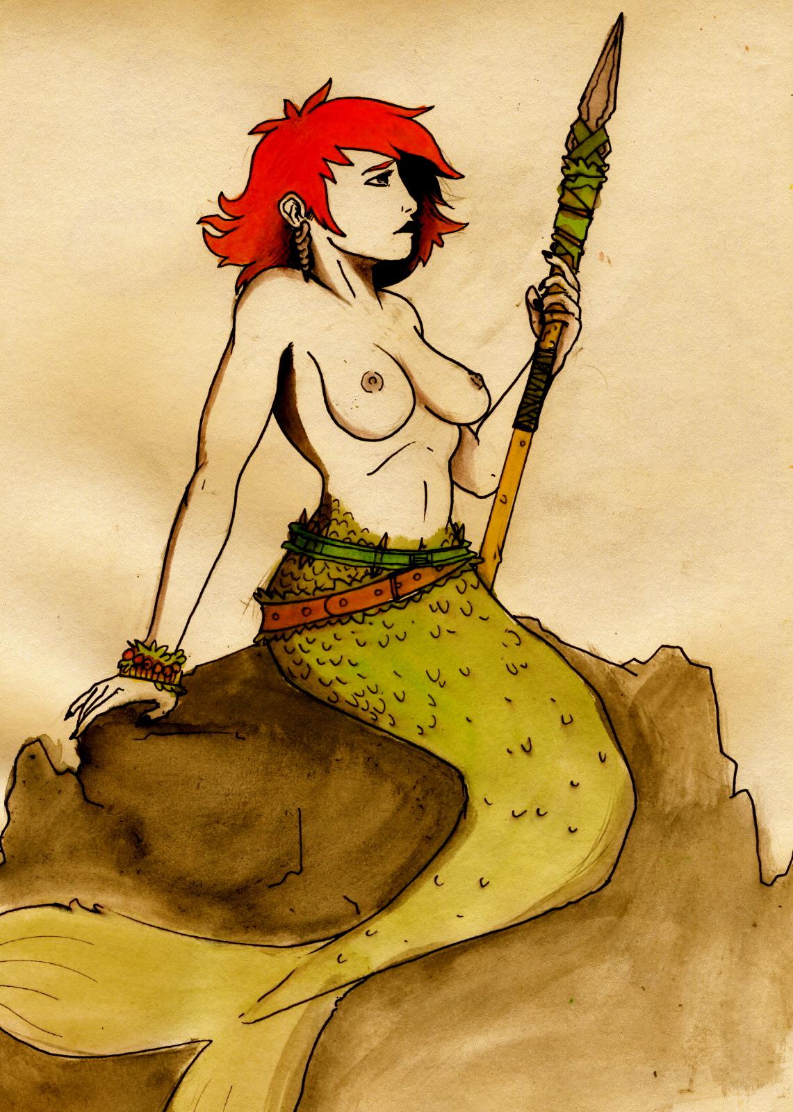 the original little mermaid