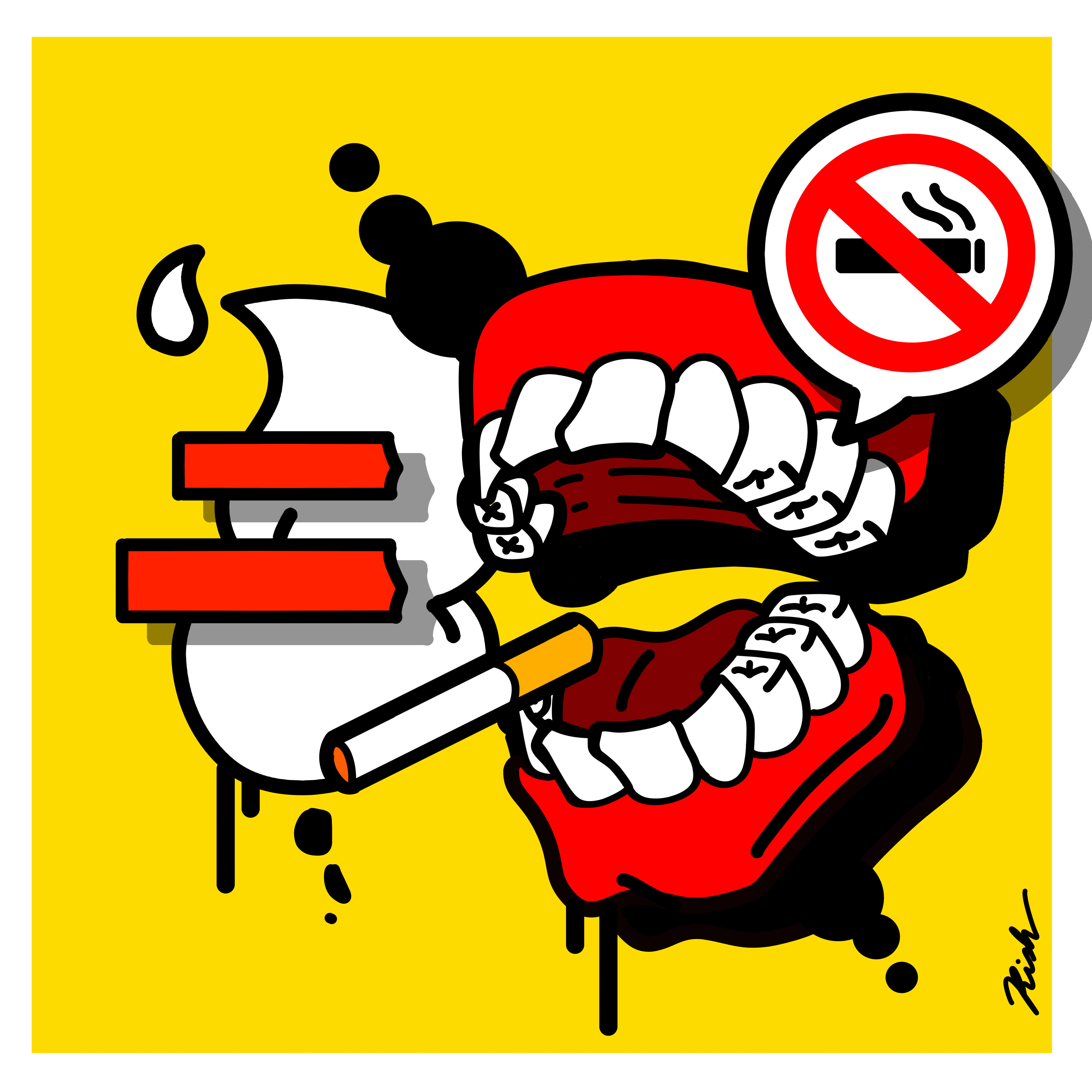 Smoking Teeth