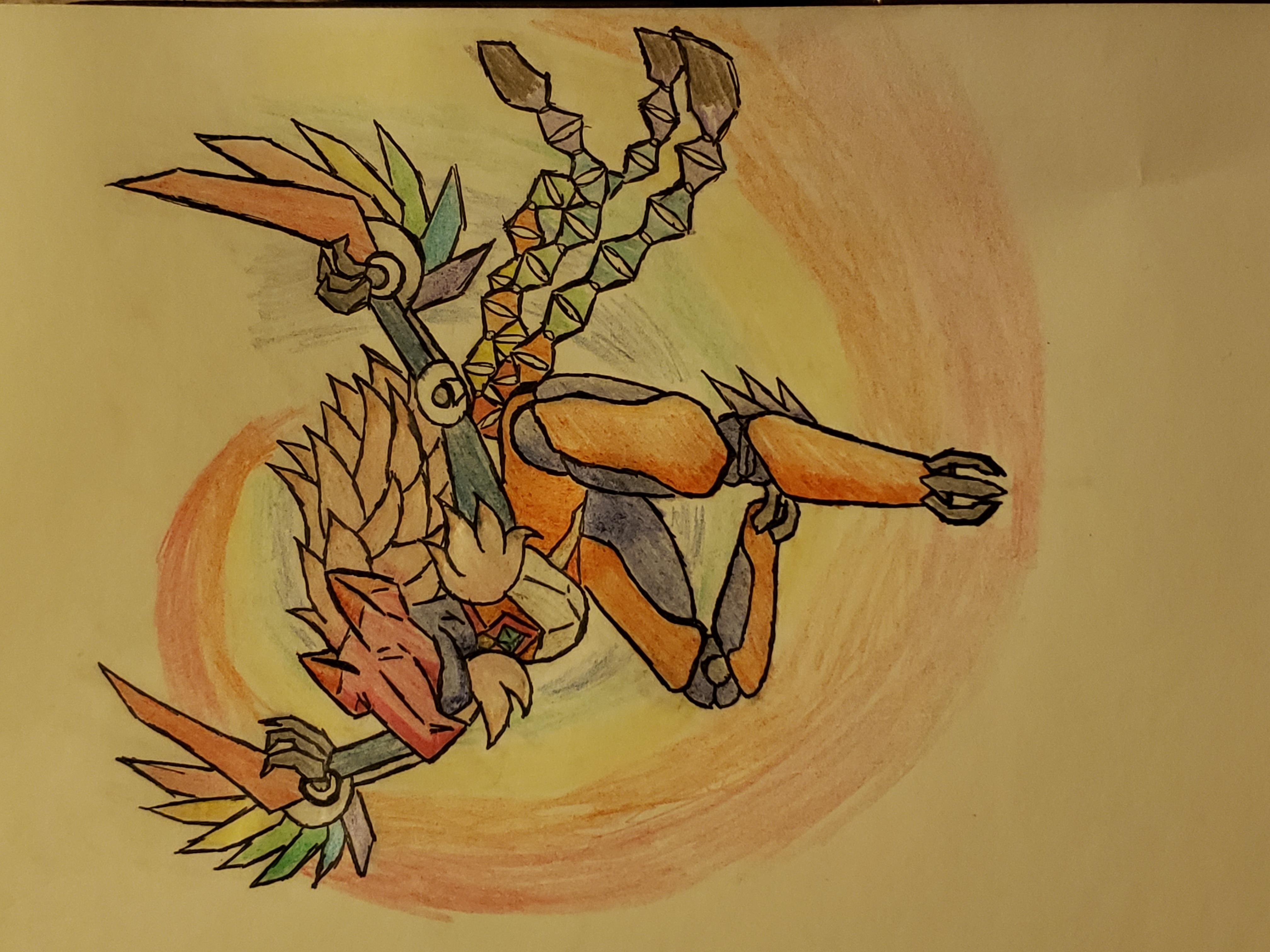 Mecha Harpy