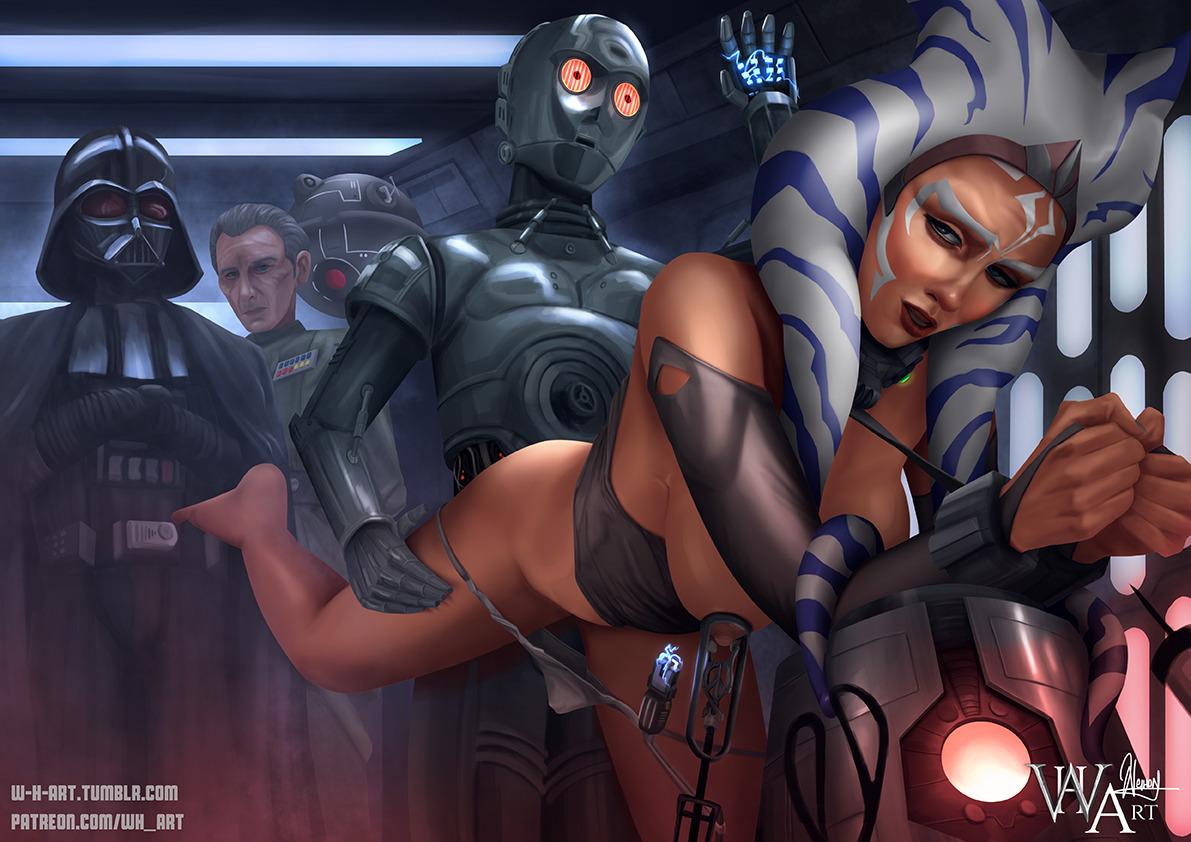 Starwars erotic artwork