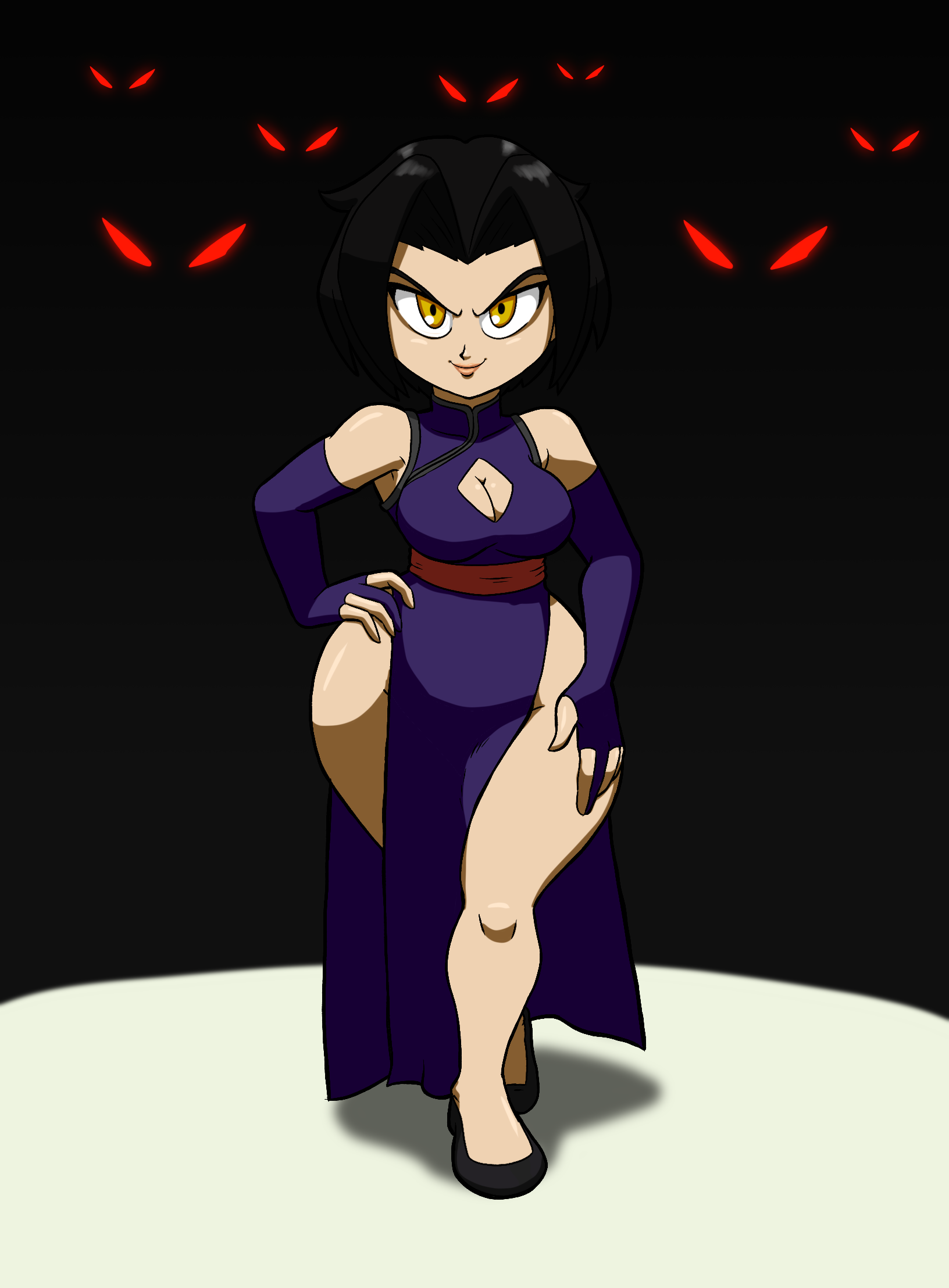 queen of the shadowkhan by tansau on newgrounds
