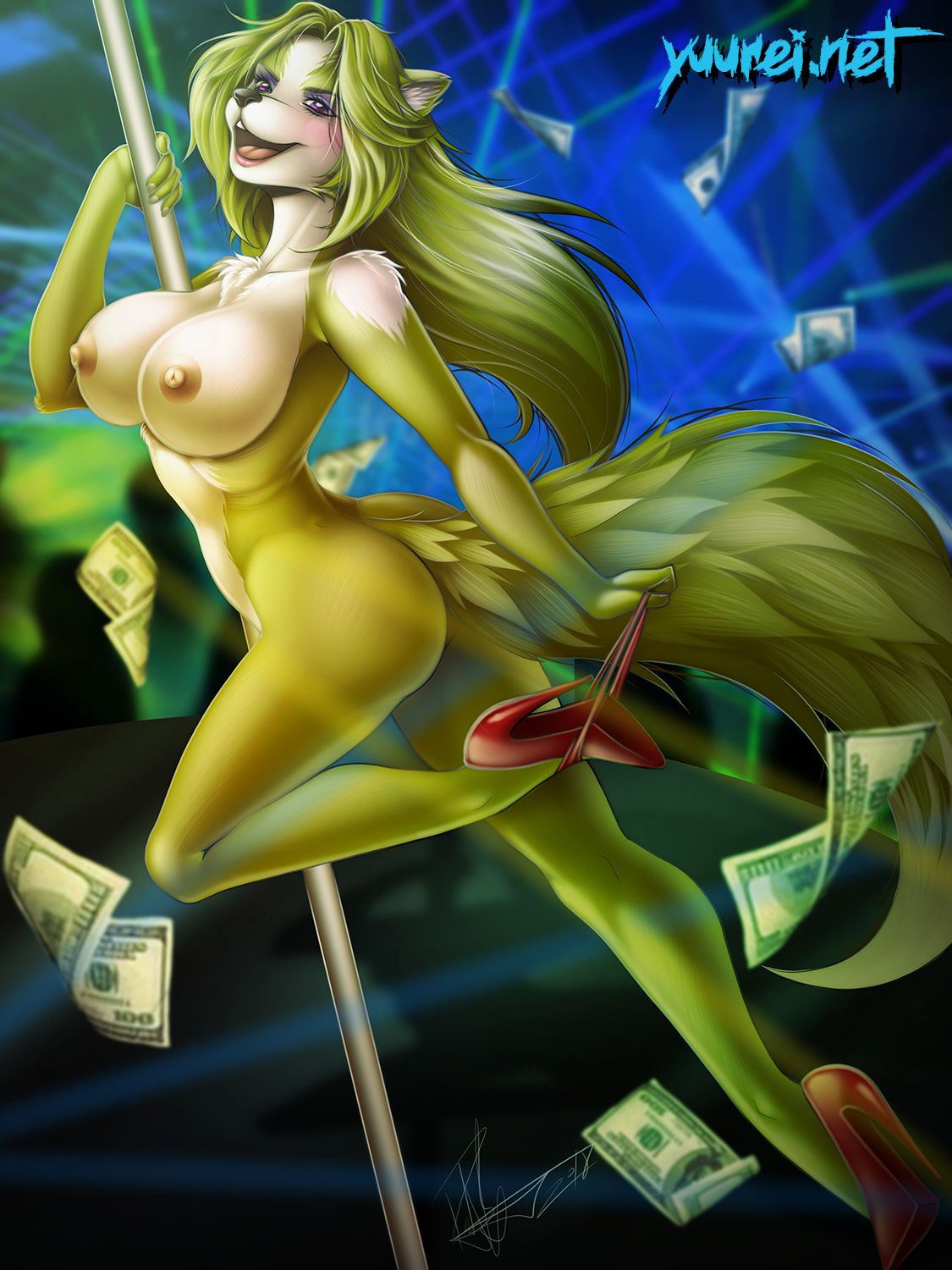 Zelaest YCH (nude version)