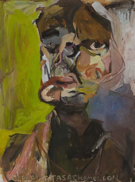 Self Portrait as a Chameleon