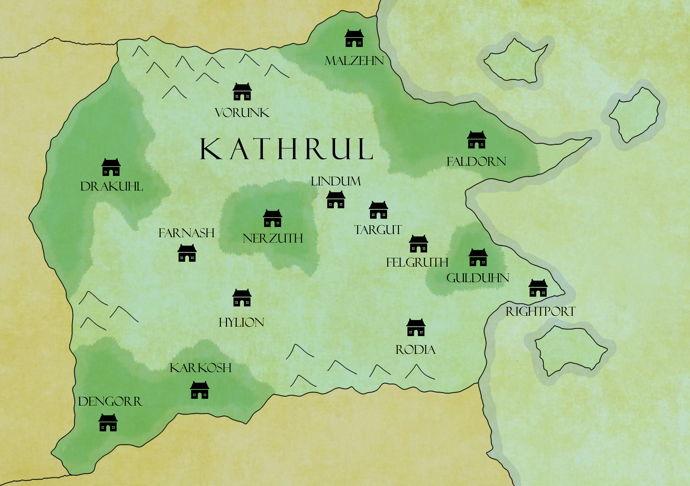 Map of Kathrul
