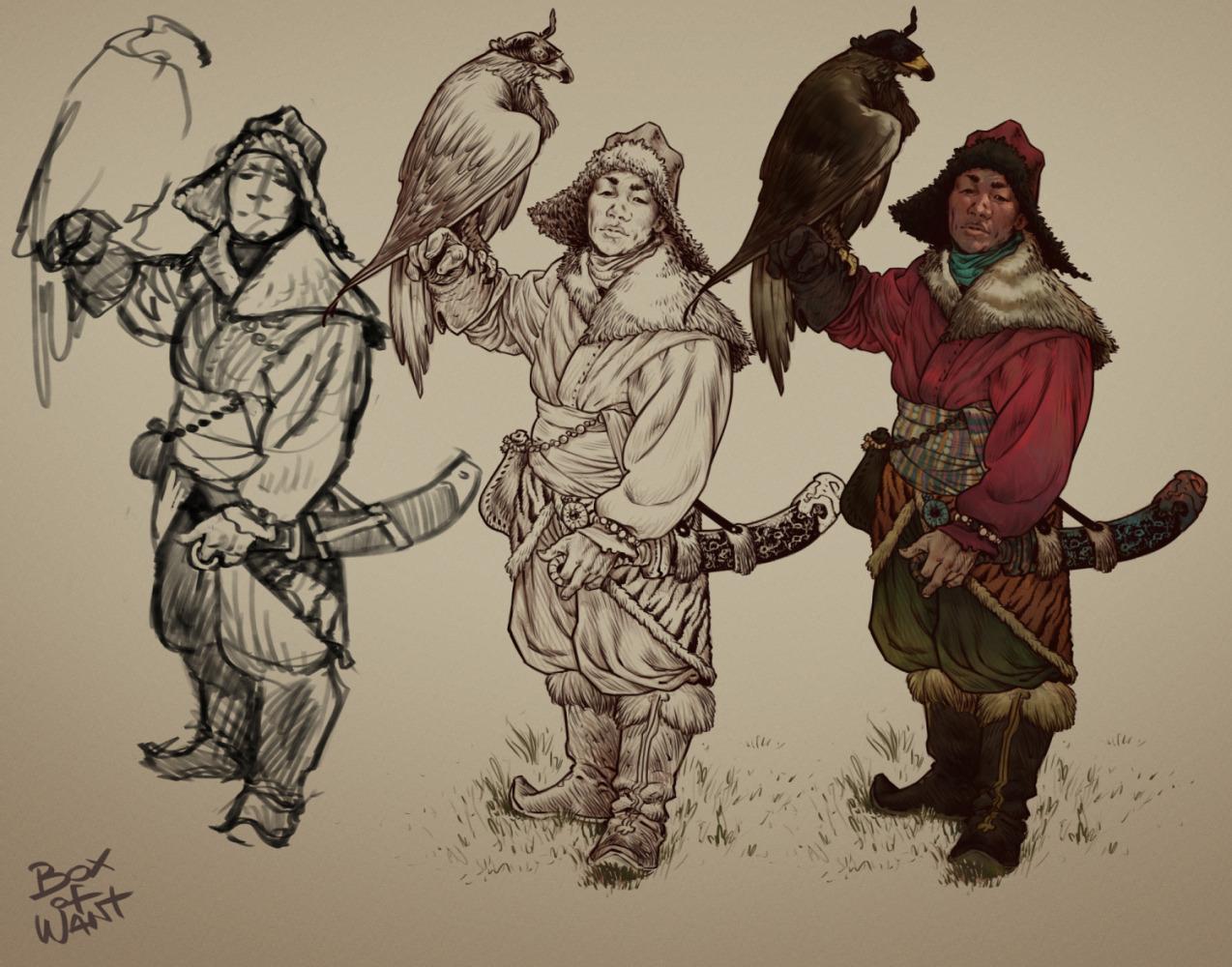Mongol Warrior-process
