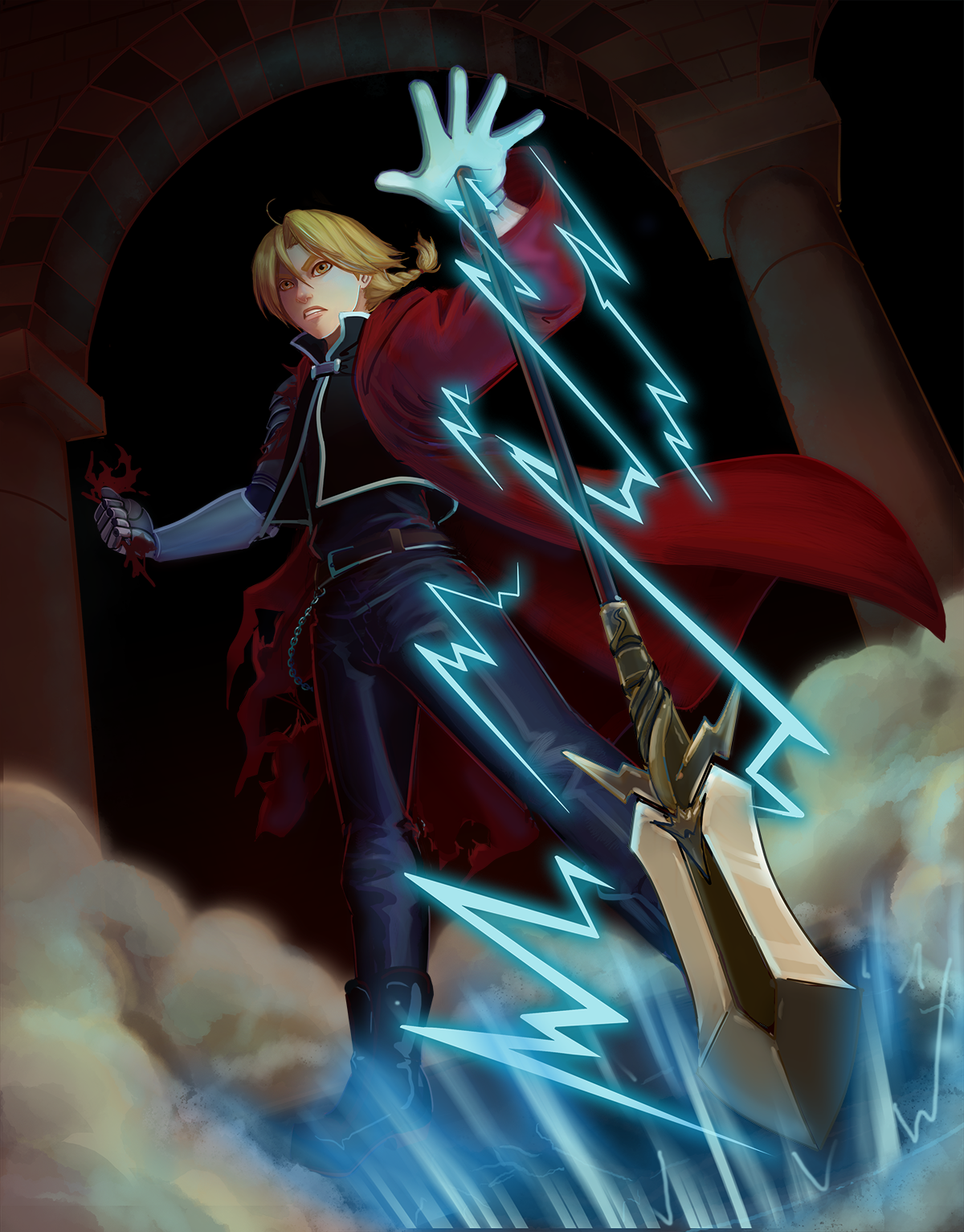 Knight of Wands- Edward Elric